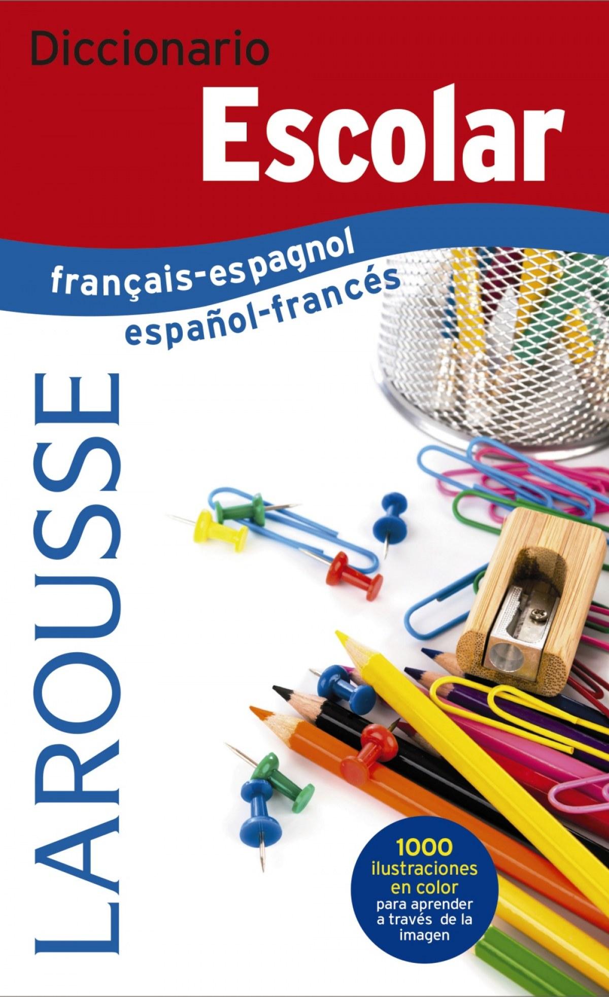 DICCIONARIO ESCOLAR FRANÇAIS-ESPAGNOL/ESPAñOL-FRANCÉS 9788416984299