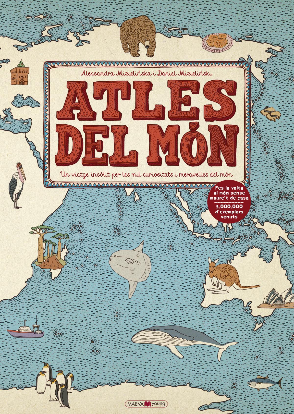 ATLES DEL MON 9788417108311