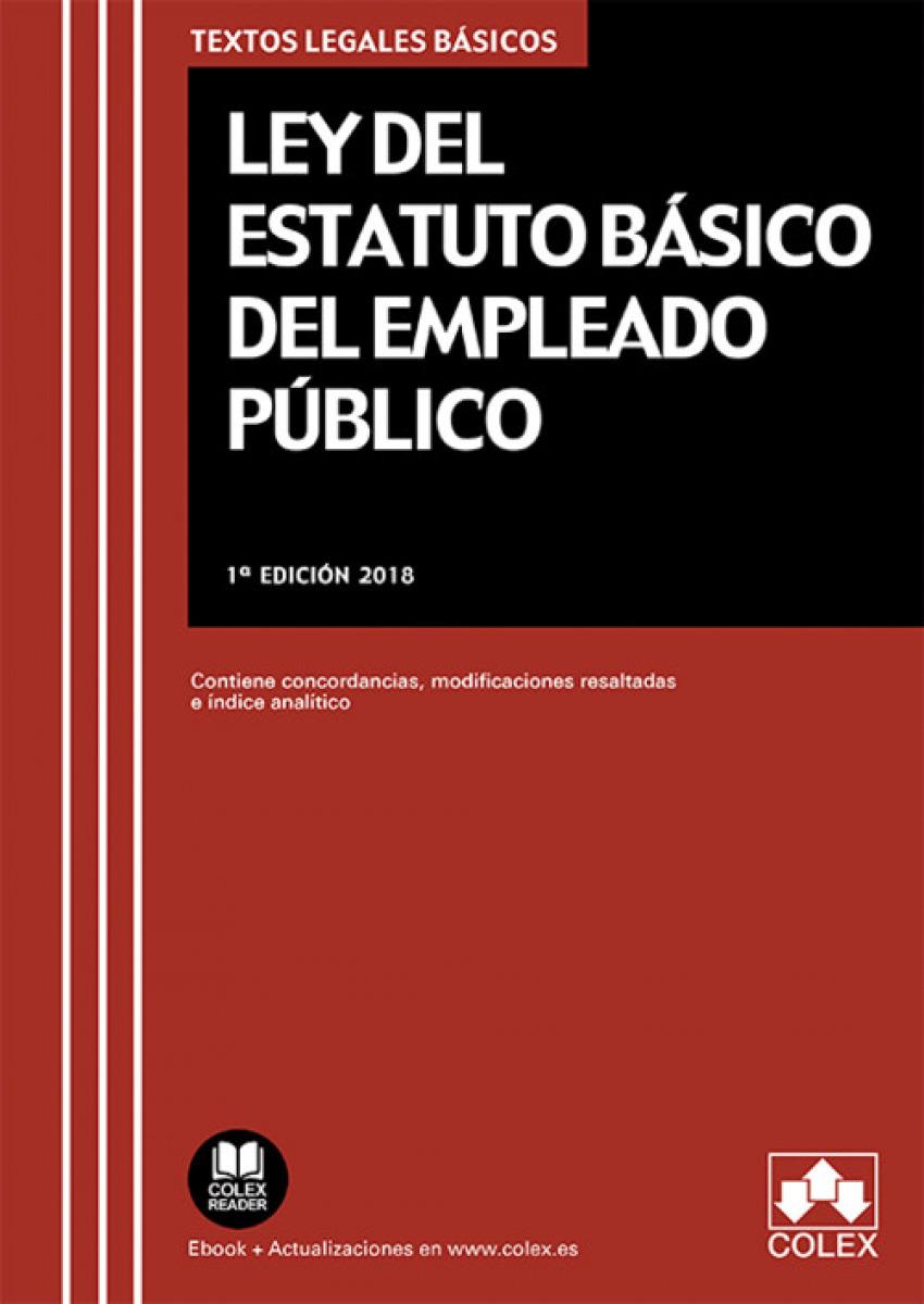 LEY DEL ESTATUTO BÁSICO DEL EMPLEADO PÚBLICO 9788417135713