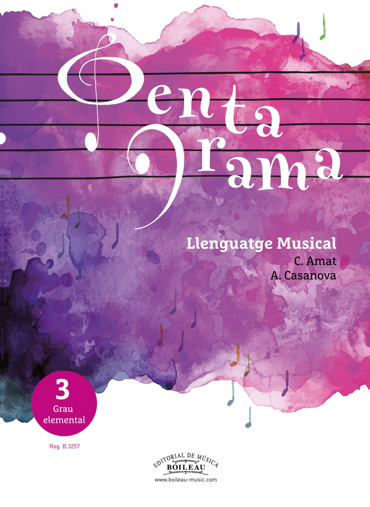 PENTAGRAMA LLENGUATGE MUSICAL 3 9788417199340