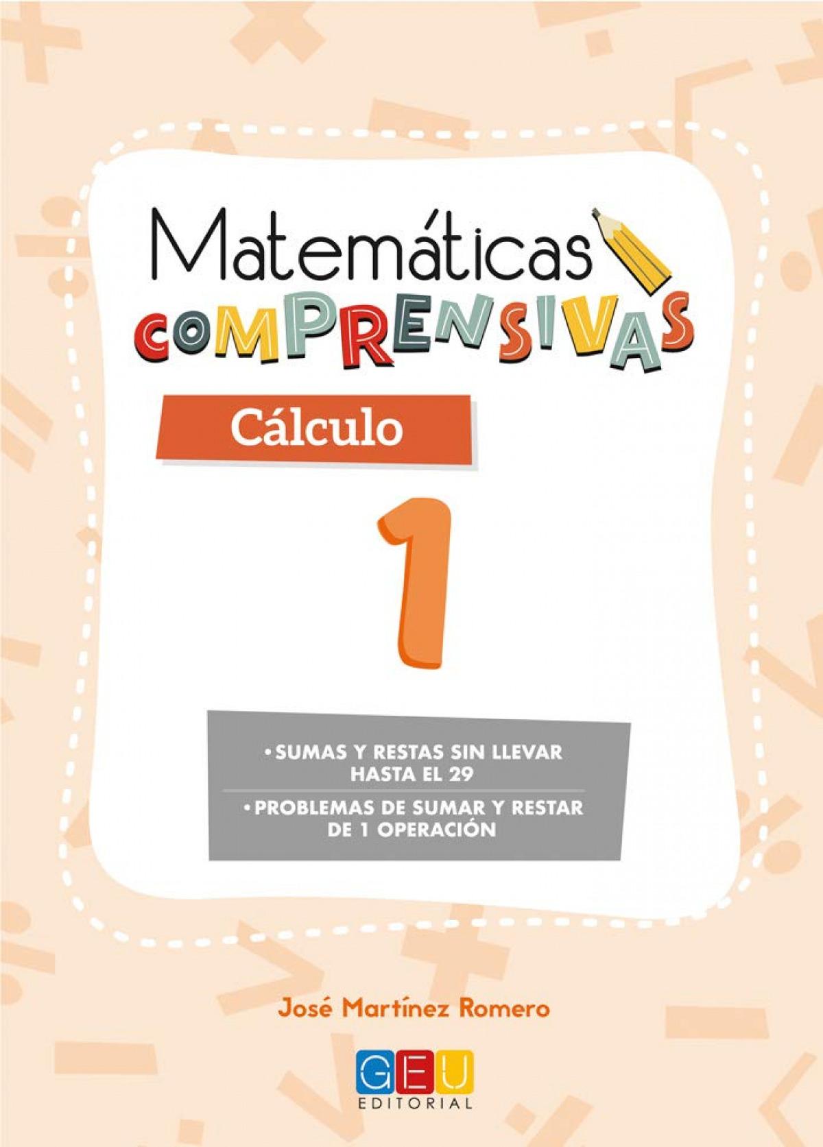 Matemáticas comprensivas. Cálculo 1 9788417201630