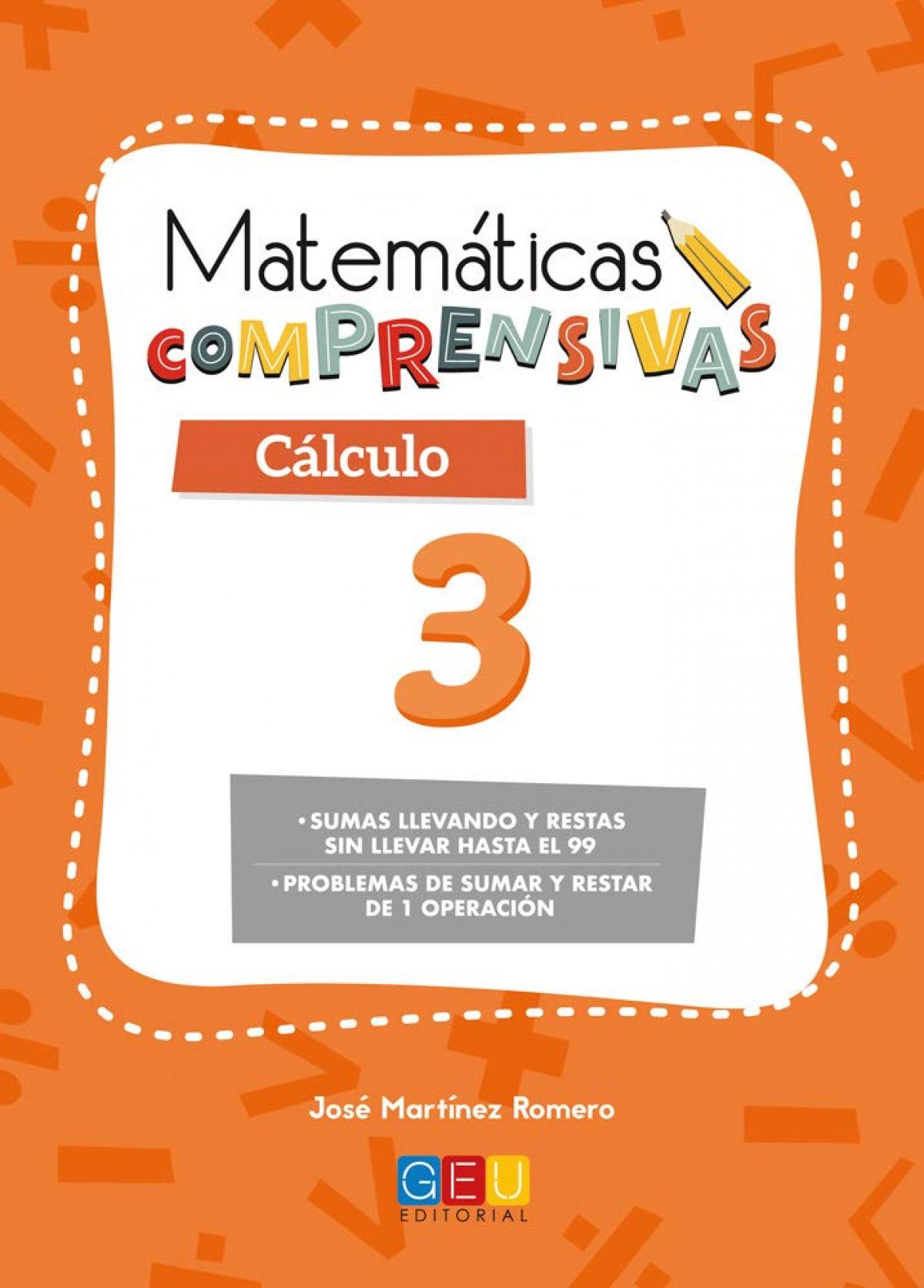 Matemáticas comprensivas. Cálculo 3 9788417201654