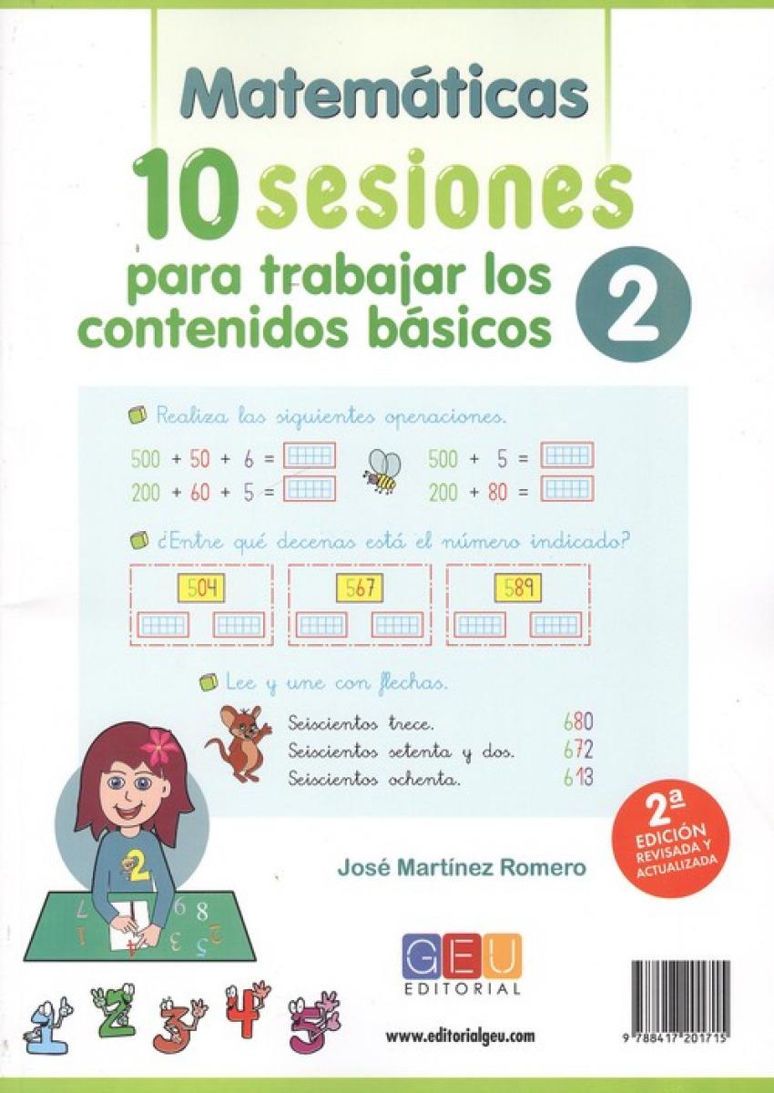 10 sesiones para trabajar los contenidos básicos. Cuaderno 2 9788417201715