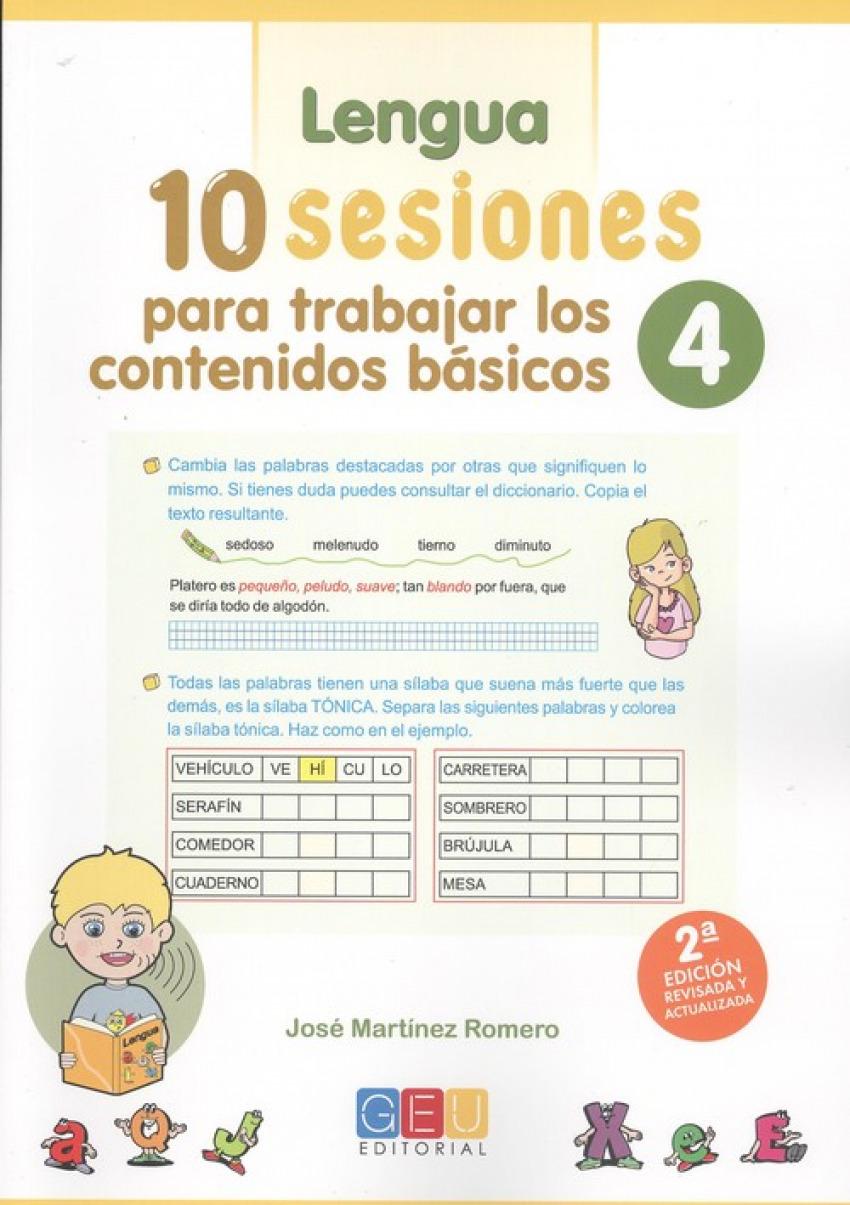 10 sesiones para trabajar los contenidos básicos 4 9788417201944