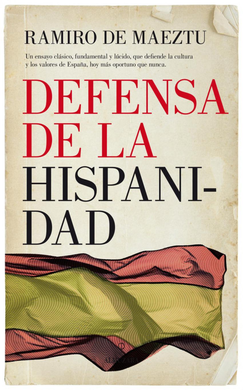 DEFENSA DE LA HISPANIDAD 9788417229047