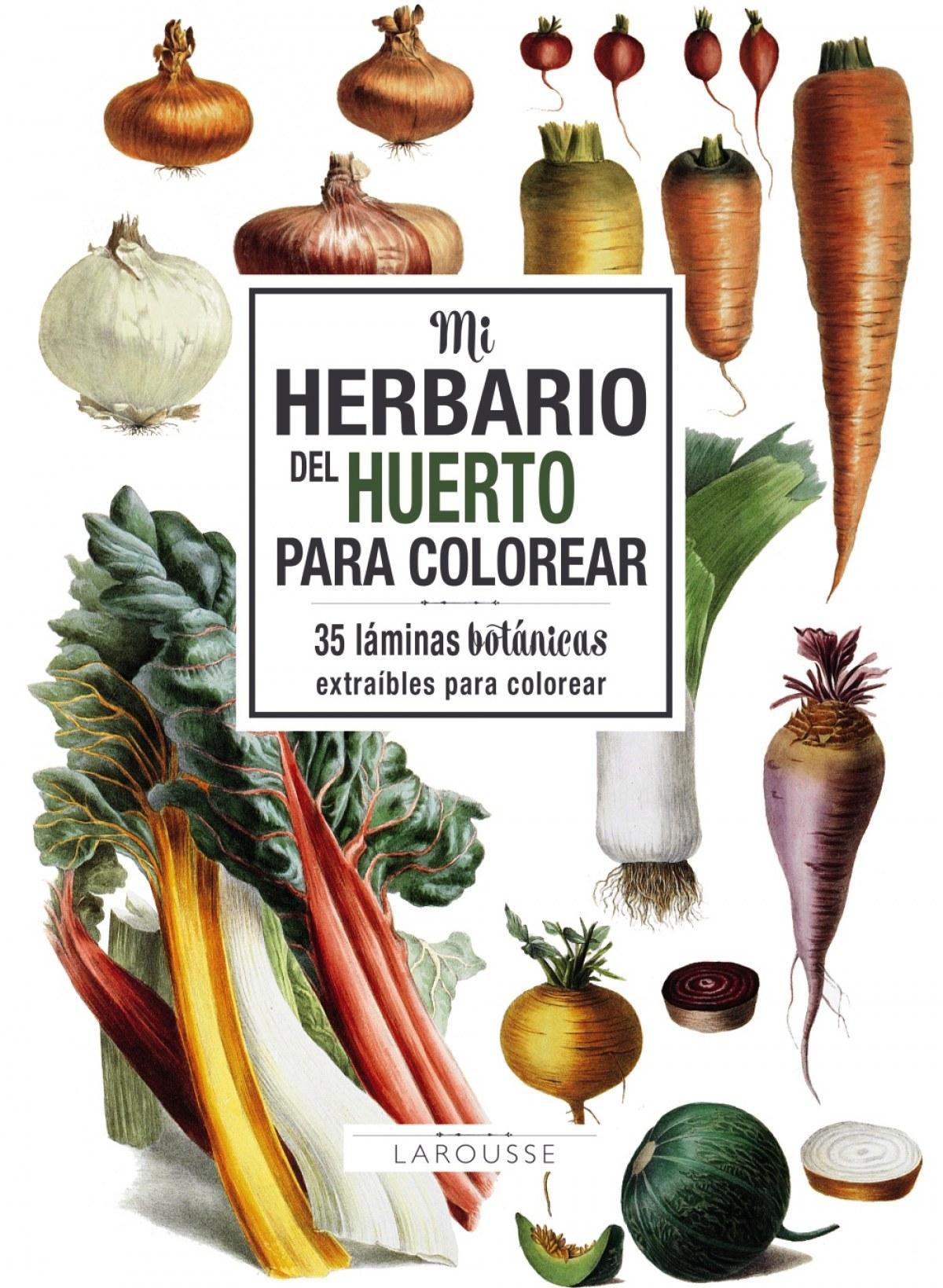 MI HERBARIO DEL HUERTO PARA COLOREAR 9788417273743