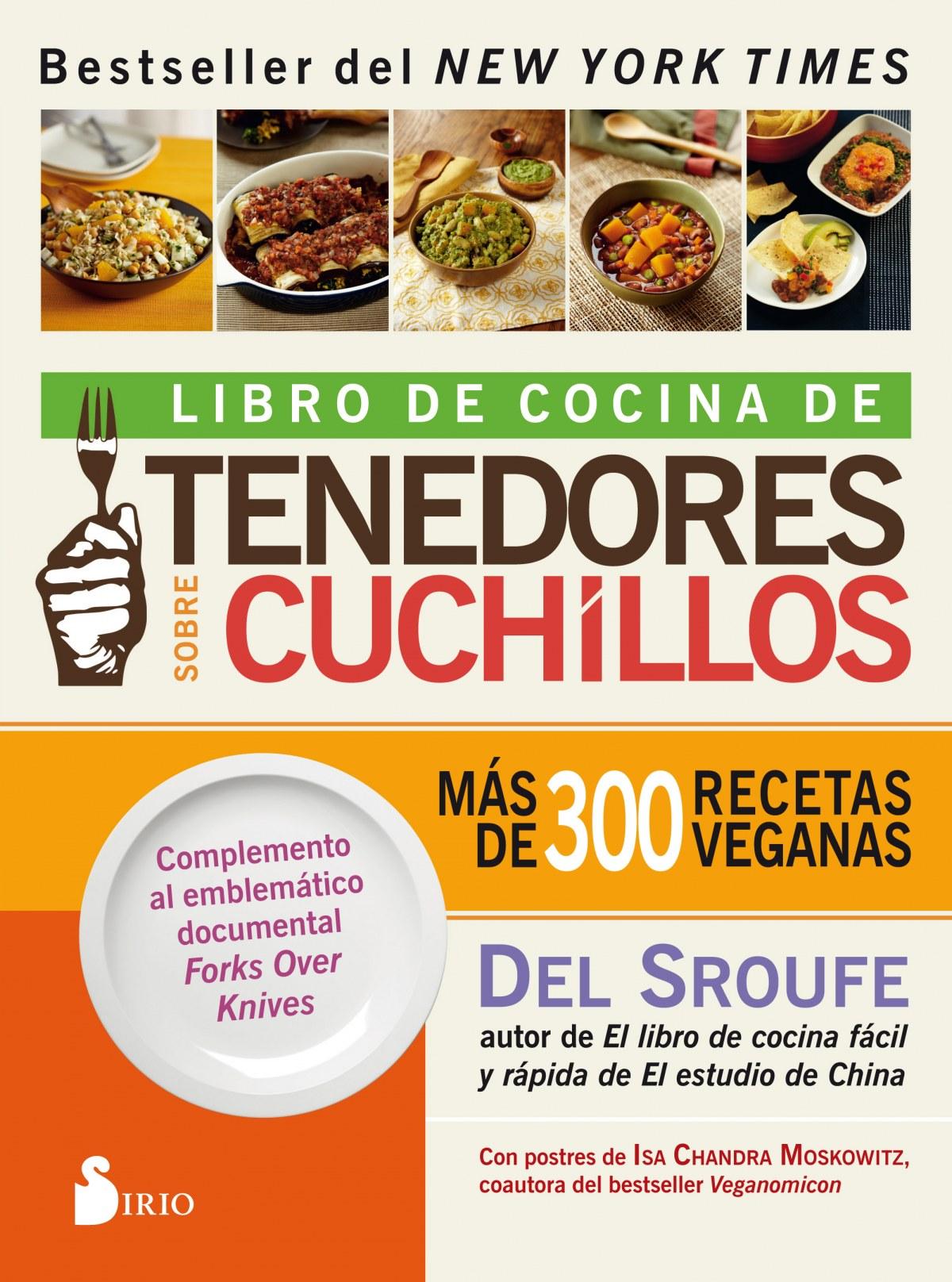 LIBRO DE COCINA DE TENEDORES SOBRE CUCHILLOS 9788417399160