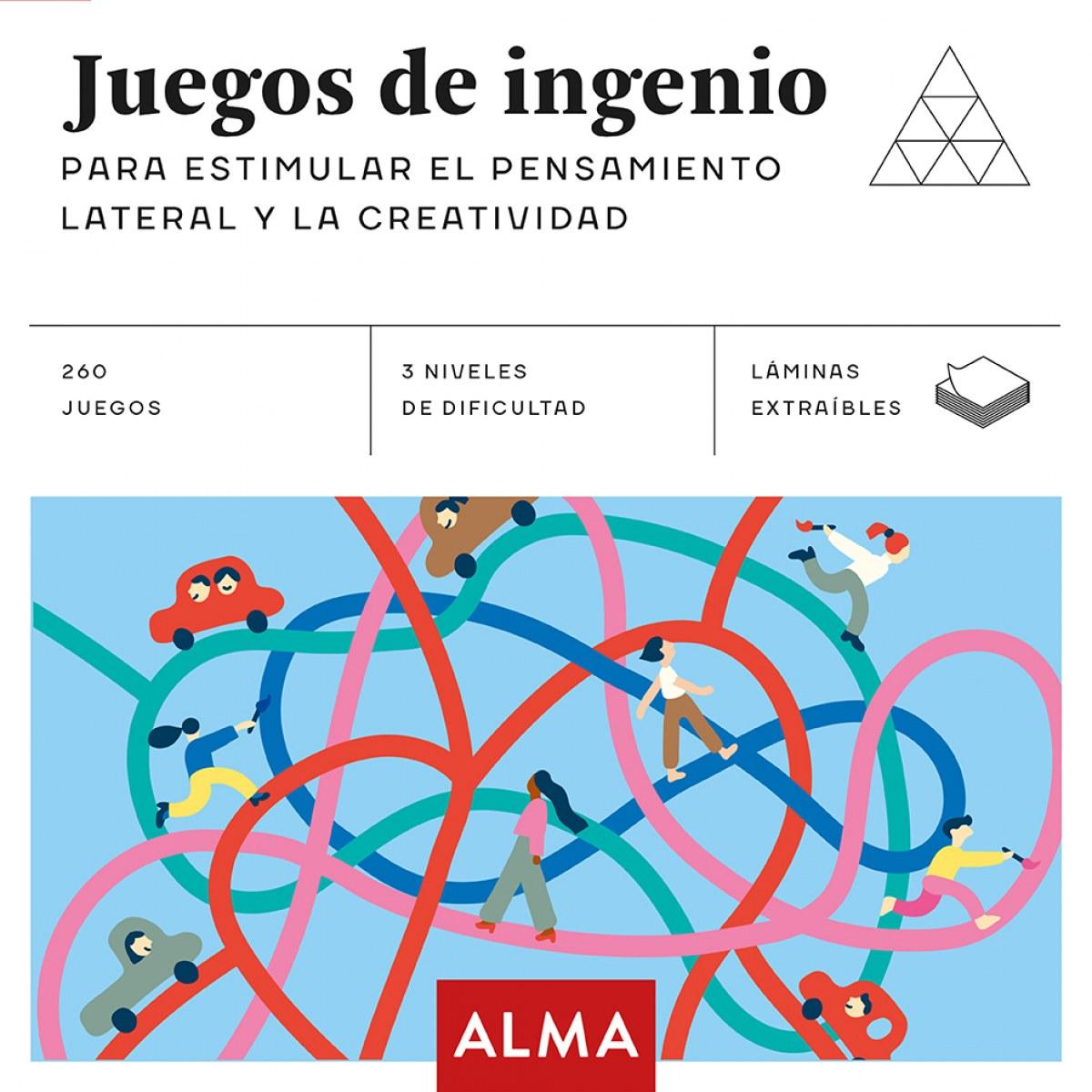 JUEGOS DE INGENIO ESTIMULAR PENSAMIENTO LATERAL CREATIVIDAD 9788417430405