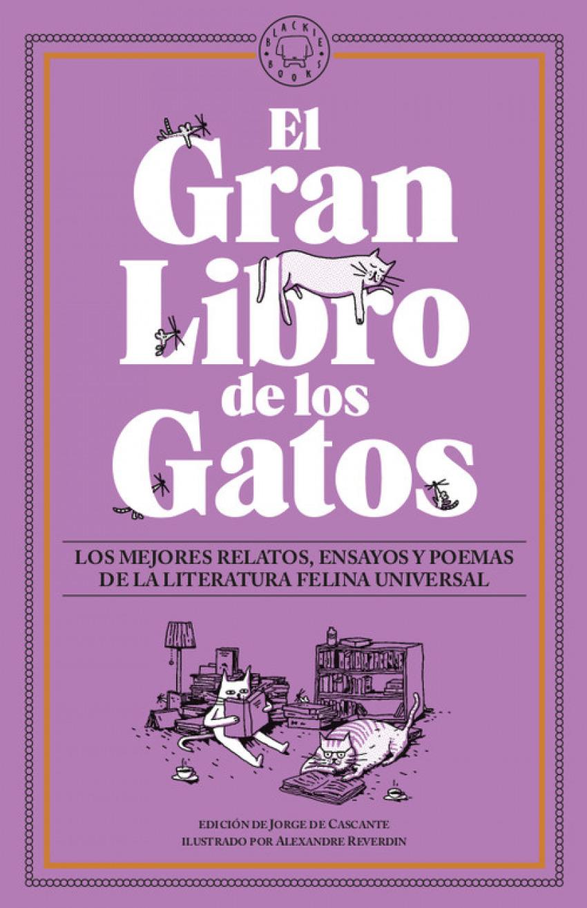 EL GRAN LIBRO DE LOS GATOS 9788417552657