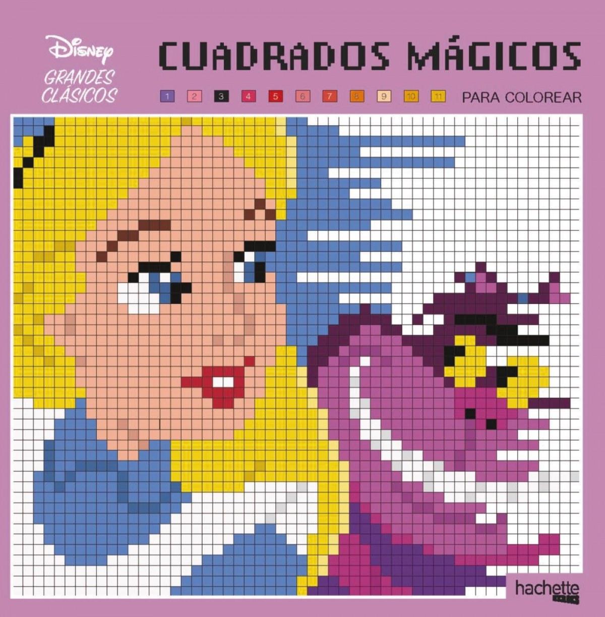 CUADRADOS MÁGICOS-GRANDES CLÁSICOS 9788417586126