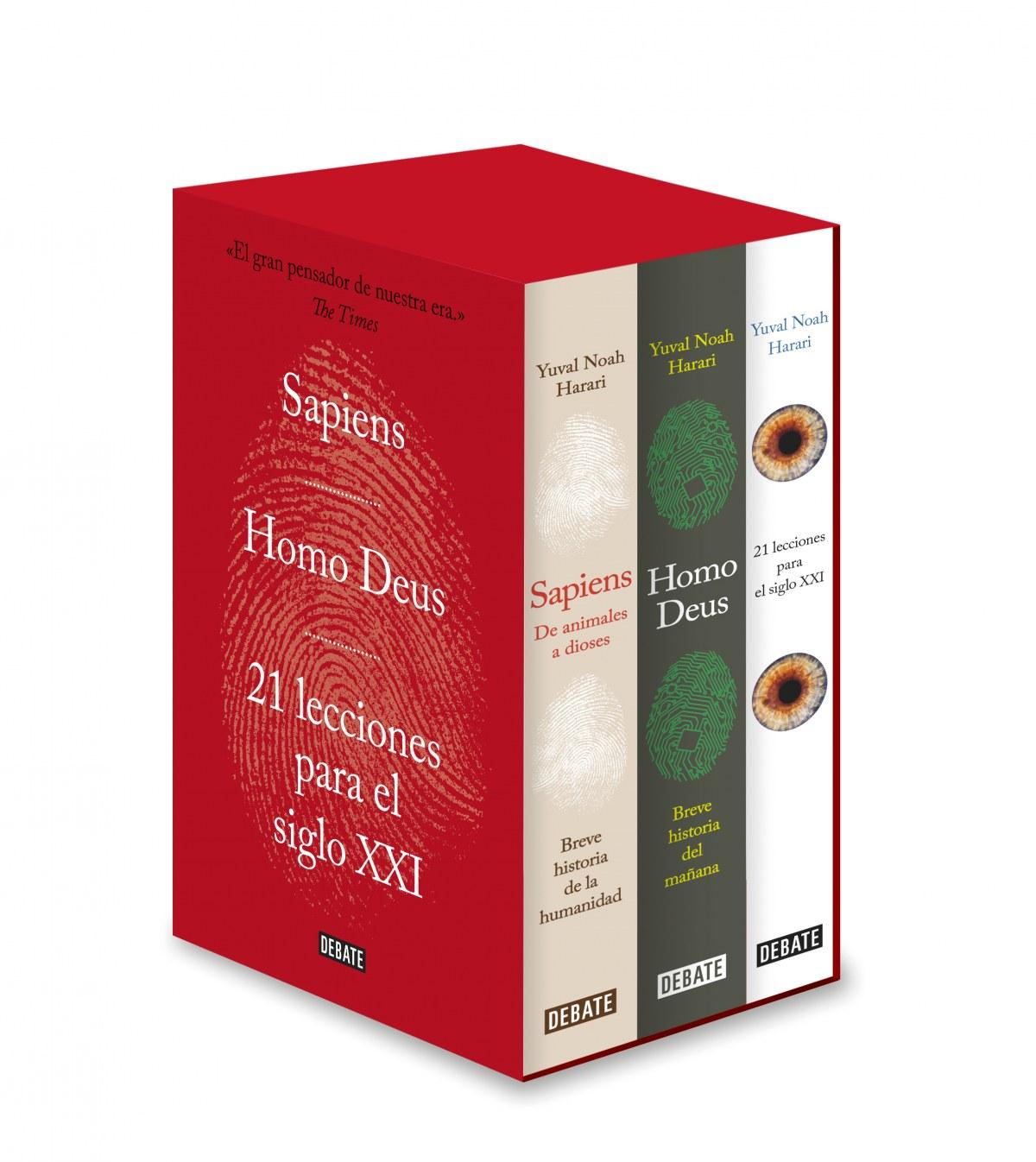 SAPIENS/HOMO DEUS/21 LECCIONES PARA EL SIGLO XXI 9788417636845