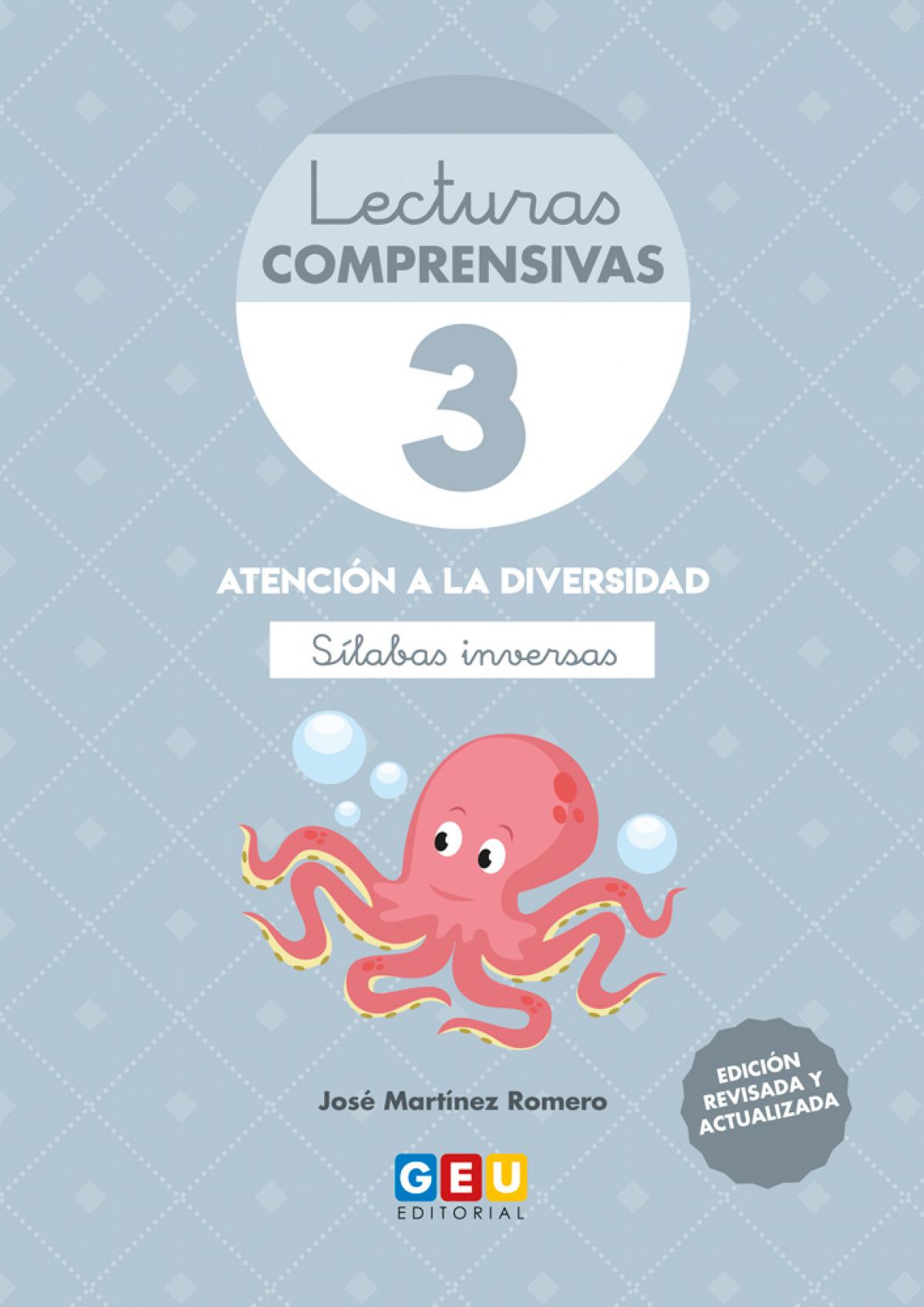 LECTURAS COMPRENSIVAS 3 SILABAS INVERSAS 4o.ED 9788417748210