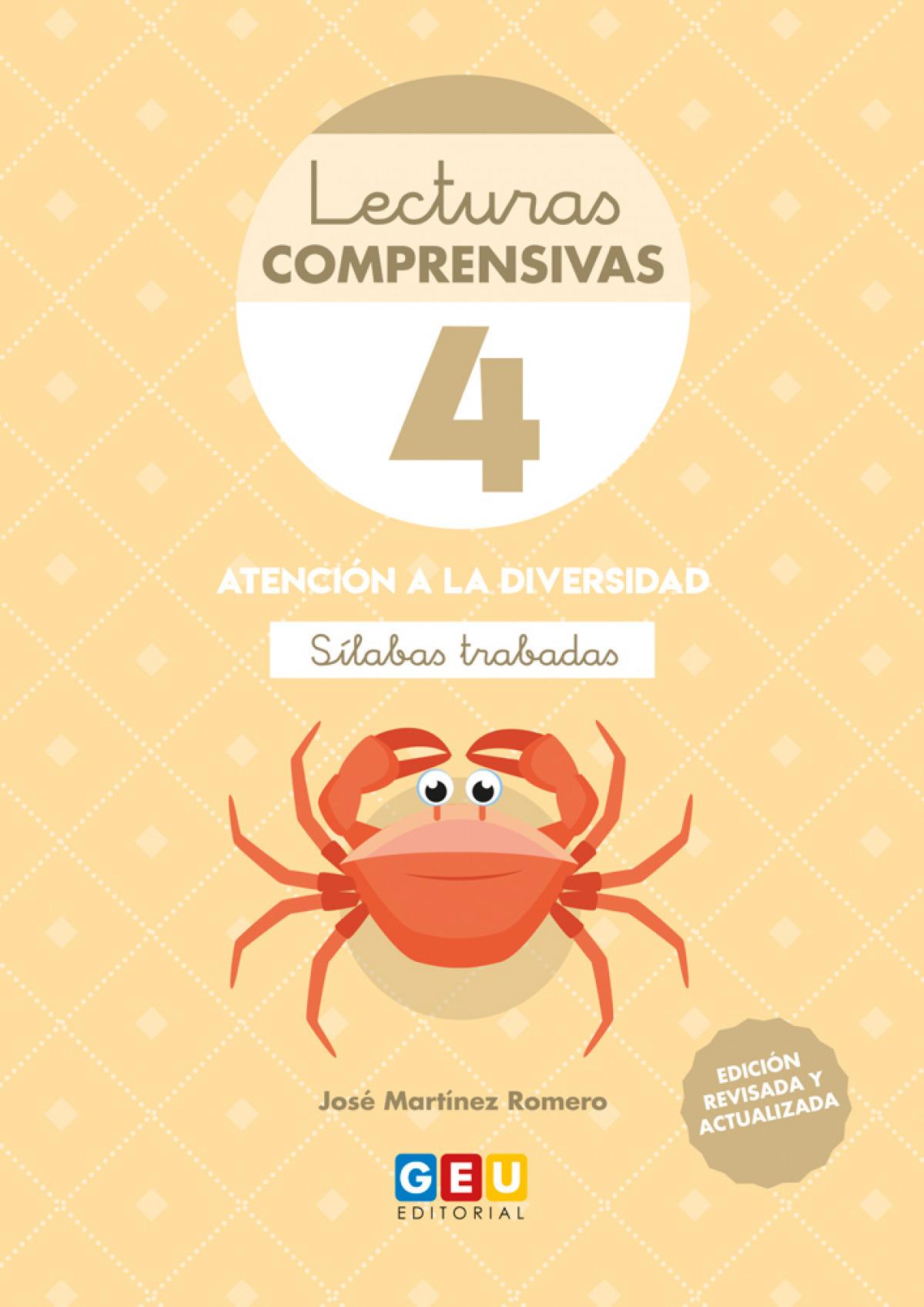 LECTURAS COMPRENSIVAS 4 SILABAS TRABADAS 4o.ED 9788417748227
