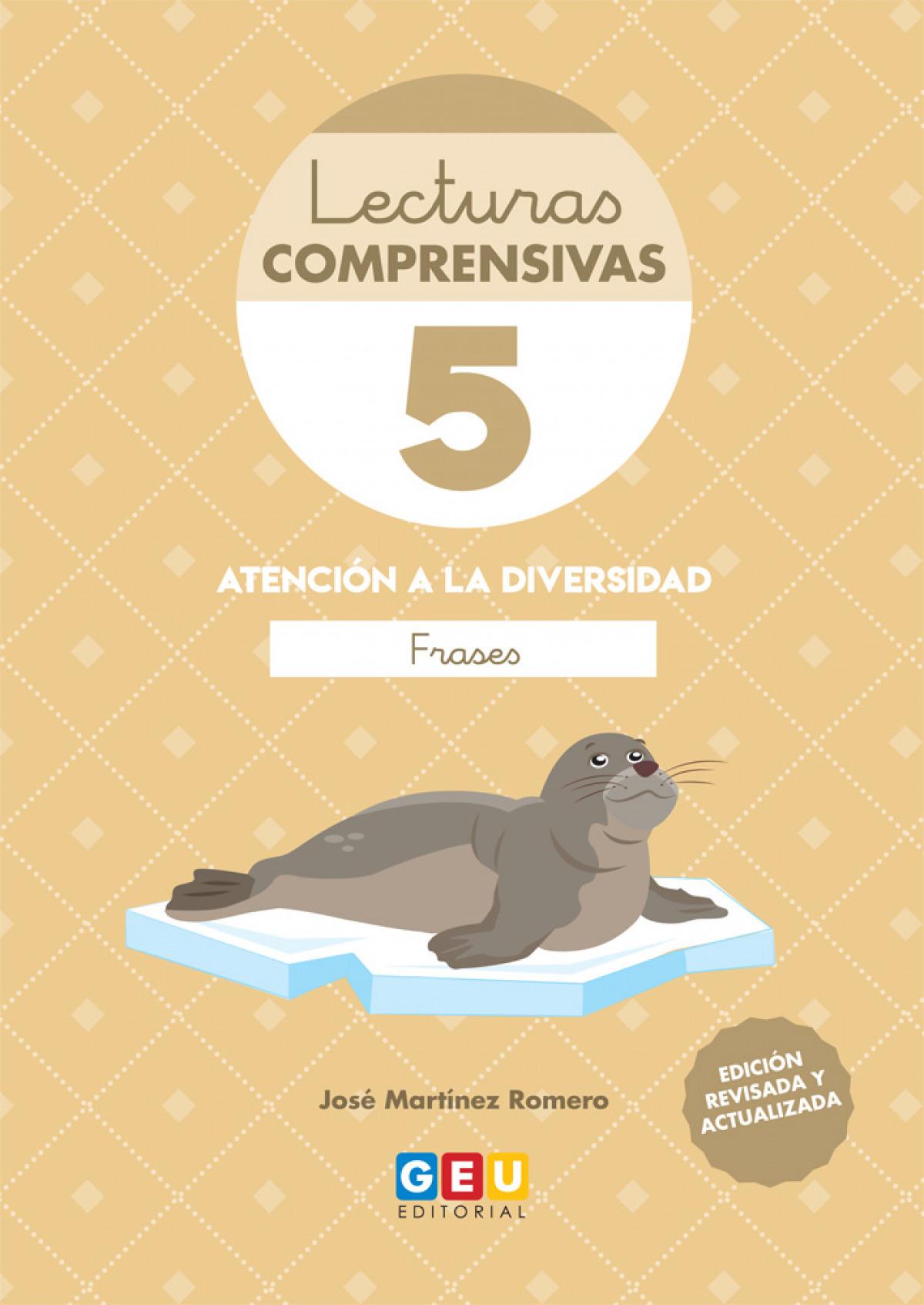 LECTURAS COMPRENSIVAS 5 FRASES 9788417748388
