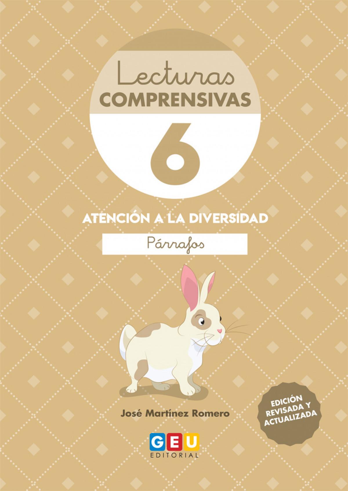 LECTURAS COMPRENSIVAS 6 LEO PARRAFOS 9788417748395