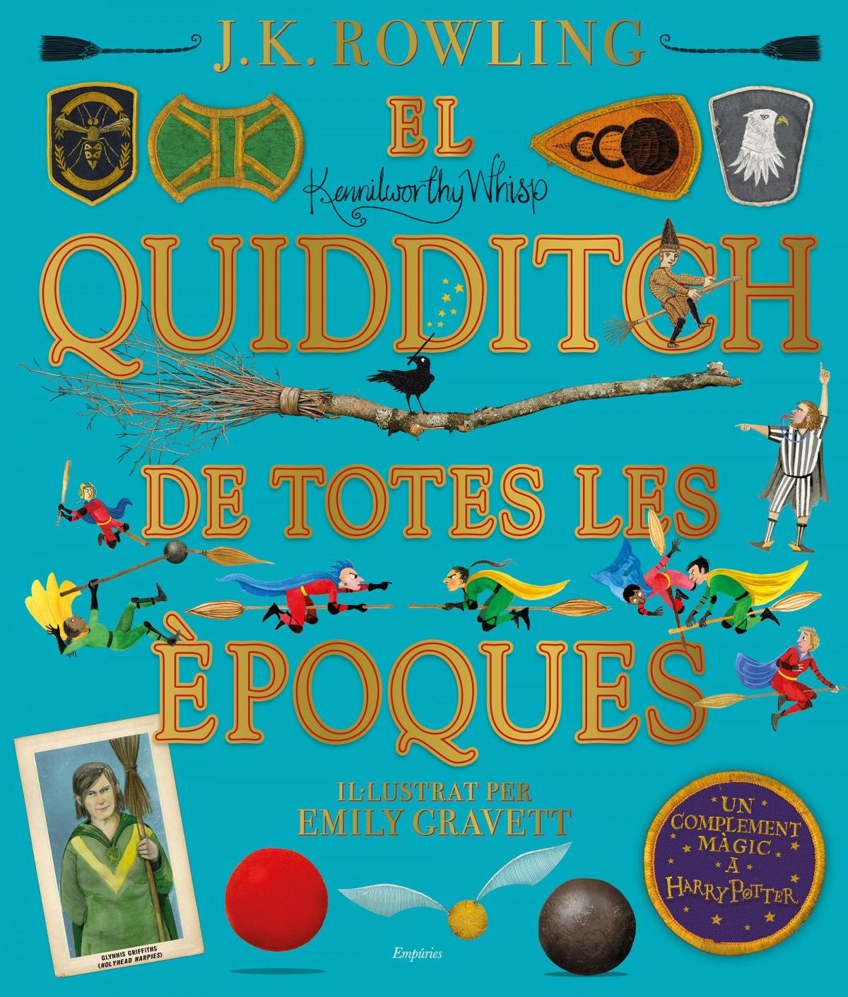 El quidditch de totes les èpoques (il·lustrat) 9788417879426
