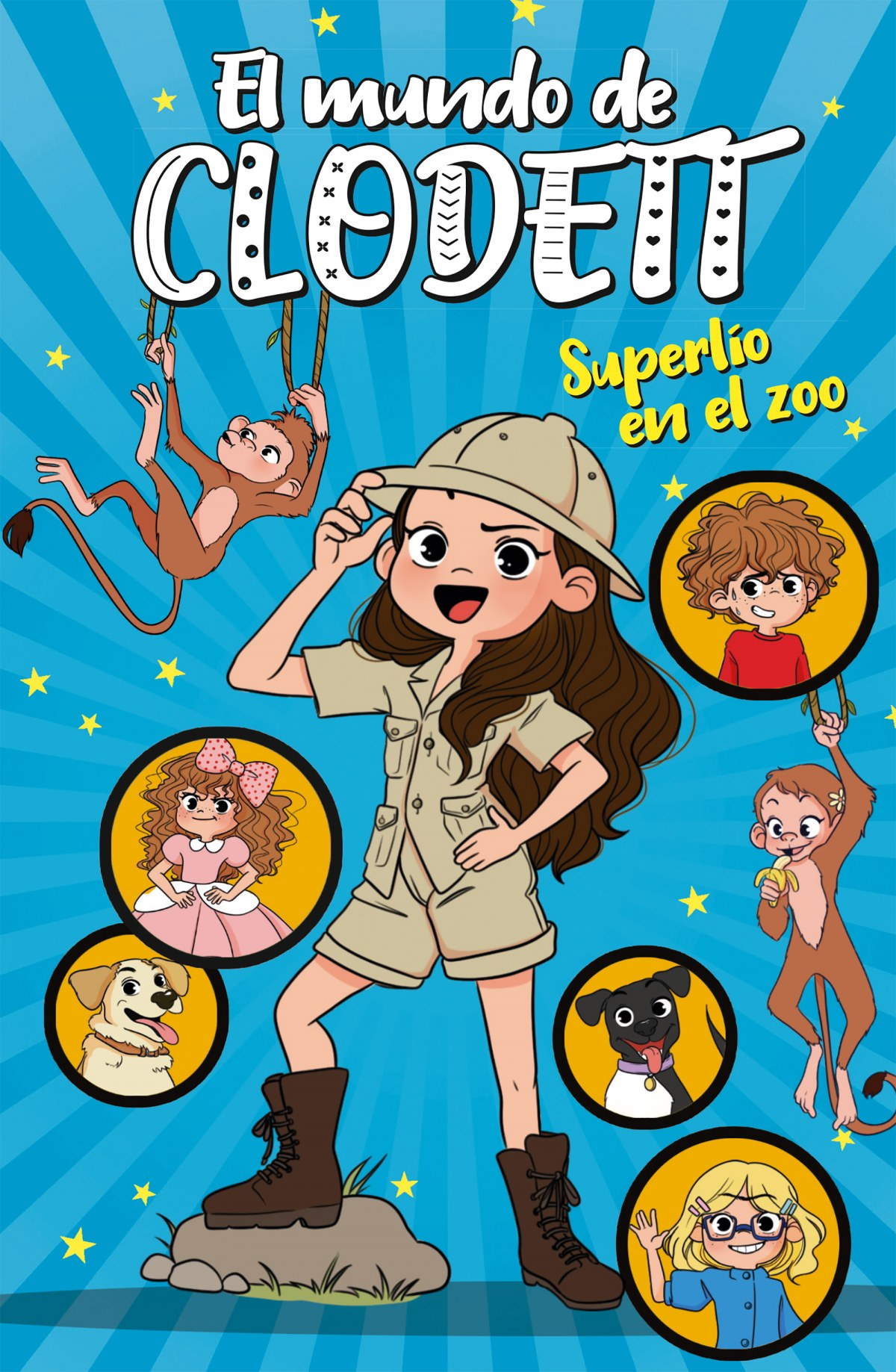 Superl¡o en el zoo (El mundo de Clodett 3) 9788417922382