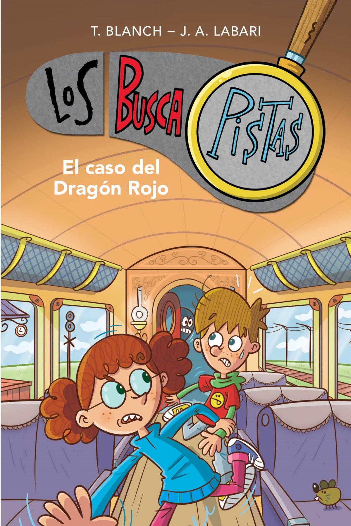 El caso del Dragón Rojo (Serie Los BuscaPistas 11) 9788417922894