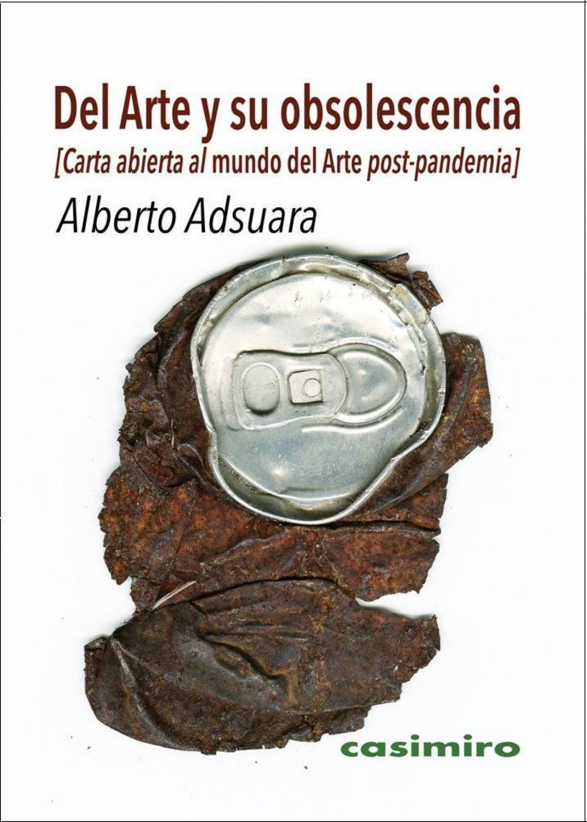 DEL ARTE Y SU OBSOLESCENCIA 9788417930264