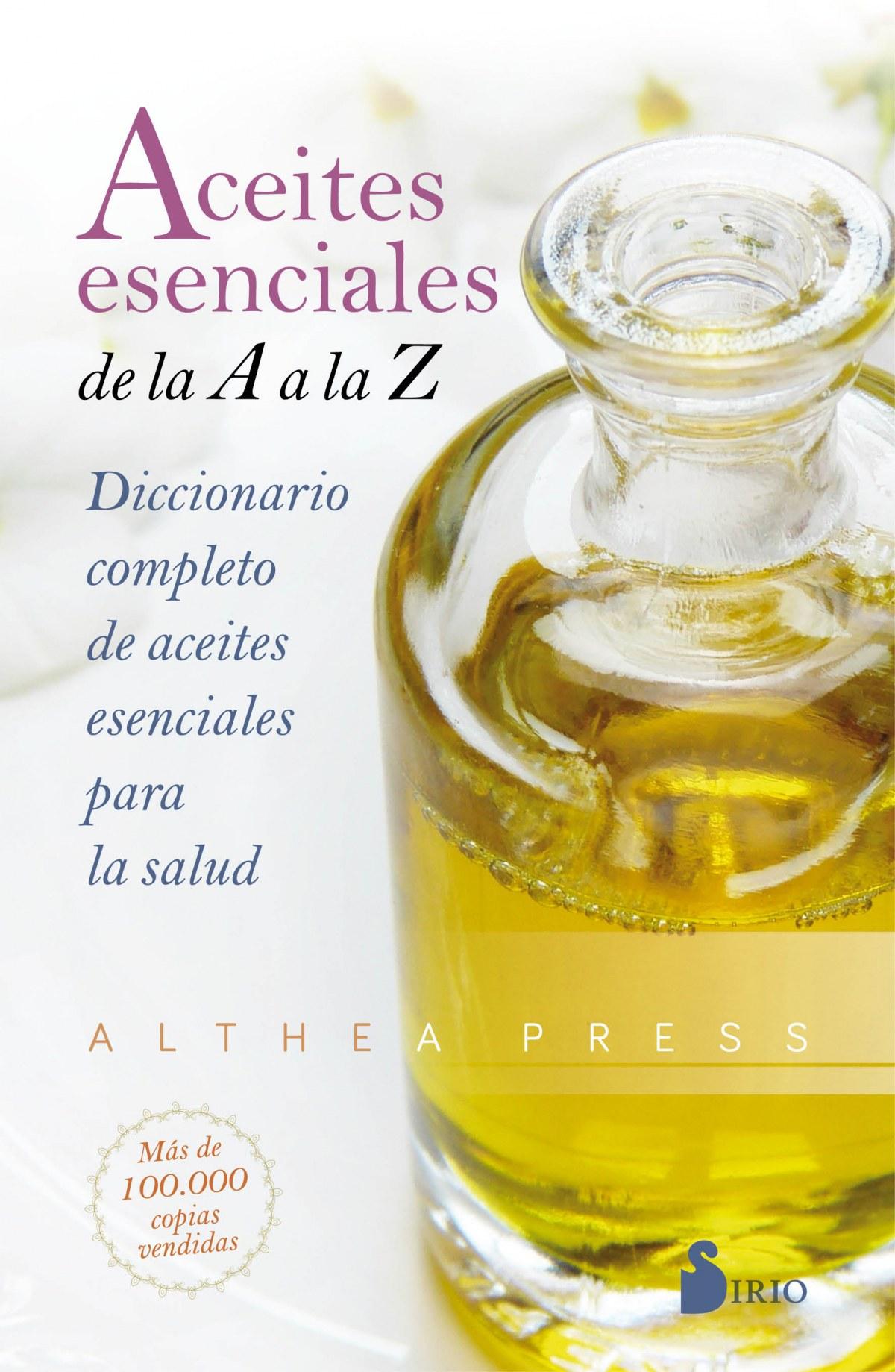 Aceites esenciales de la A a la Z 9788418000393