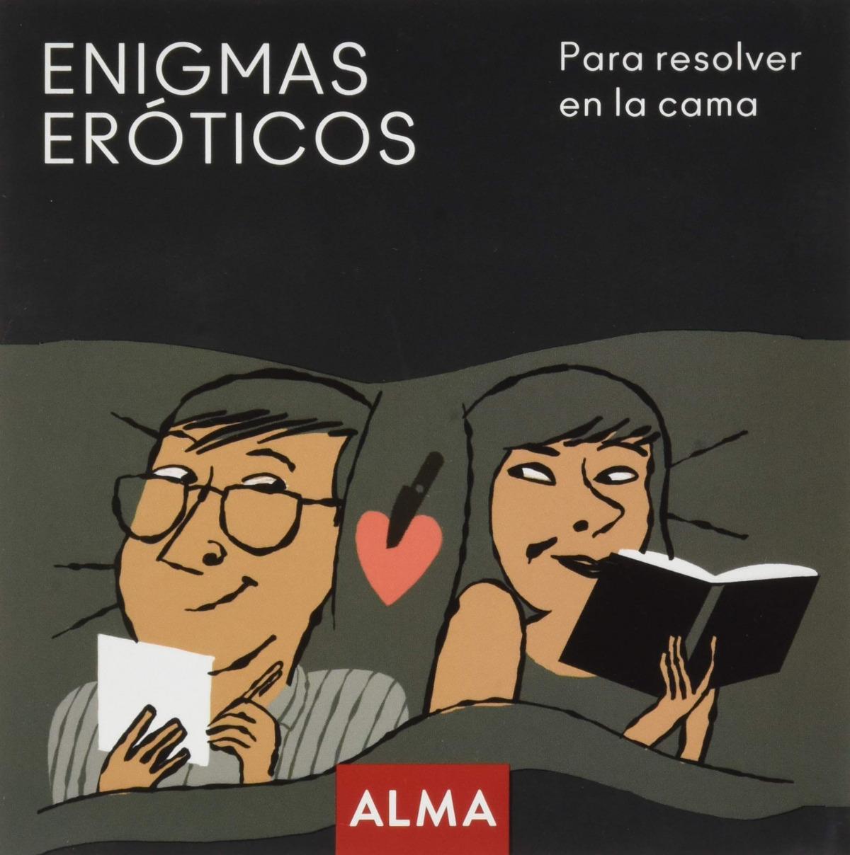 Enigmas eróticos para resolver en la cama 9788418008214
