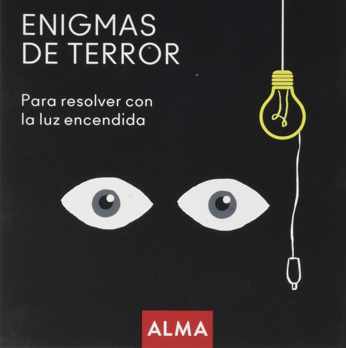 Enigmas de terror para resolver con la luz encendida 9788418008221
