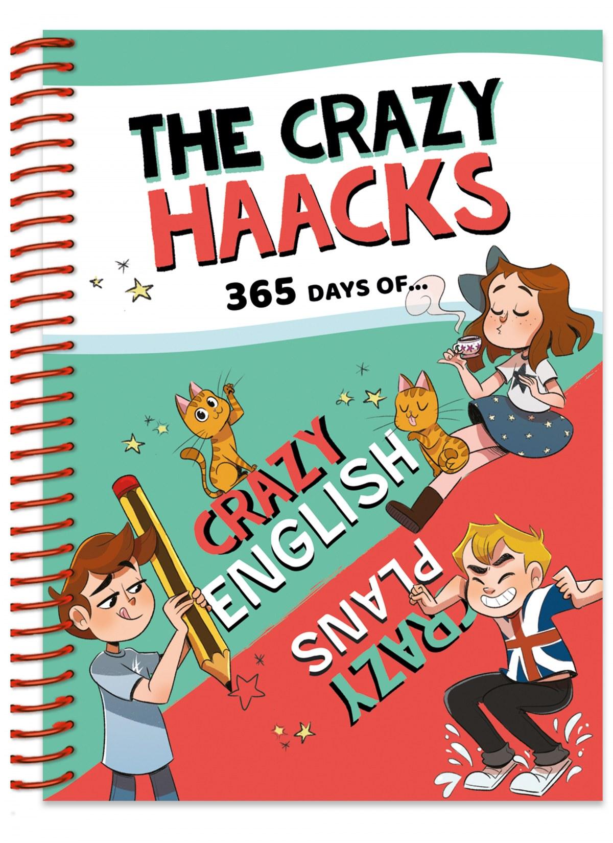 365 days of Crazy English &Crazy Plans (Serie The Crazy Haacks) 9788418038297