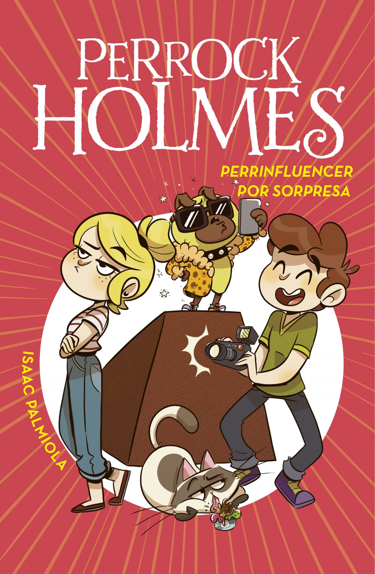 Perrinfluencer por sorpresa (Serie Perrock Holmes 15) 9788418038730