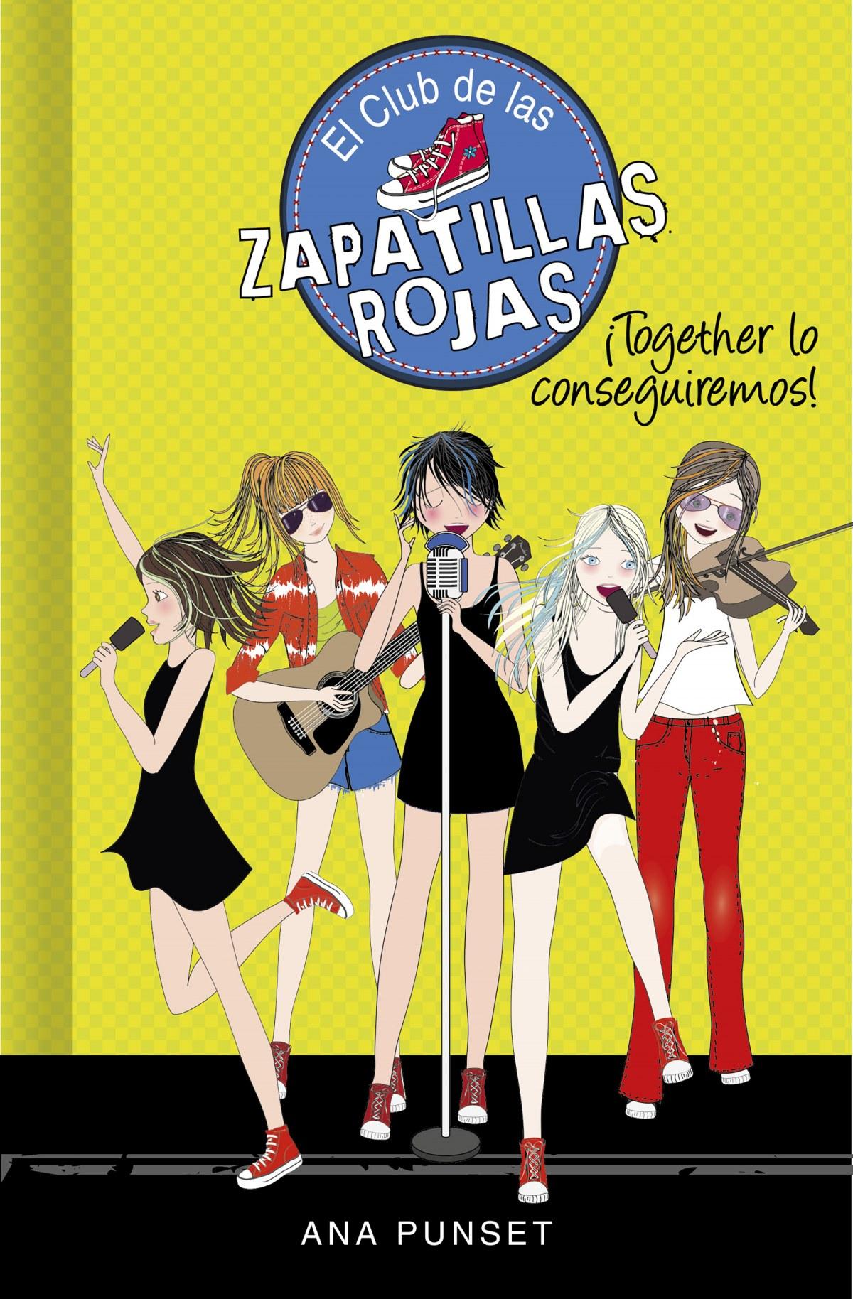 Together lo conseguiremos! (Serie El Club de las Zapatillas Roja 9788418038792