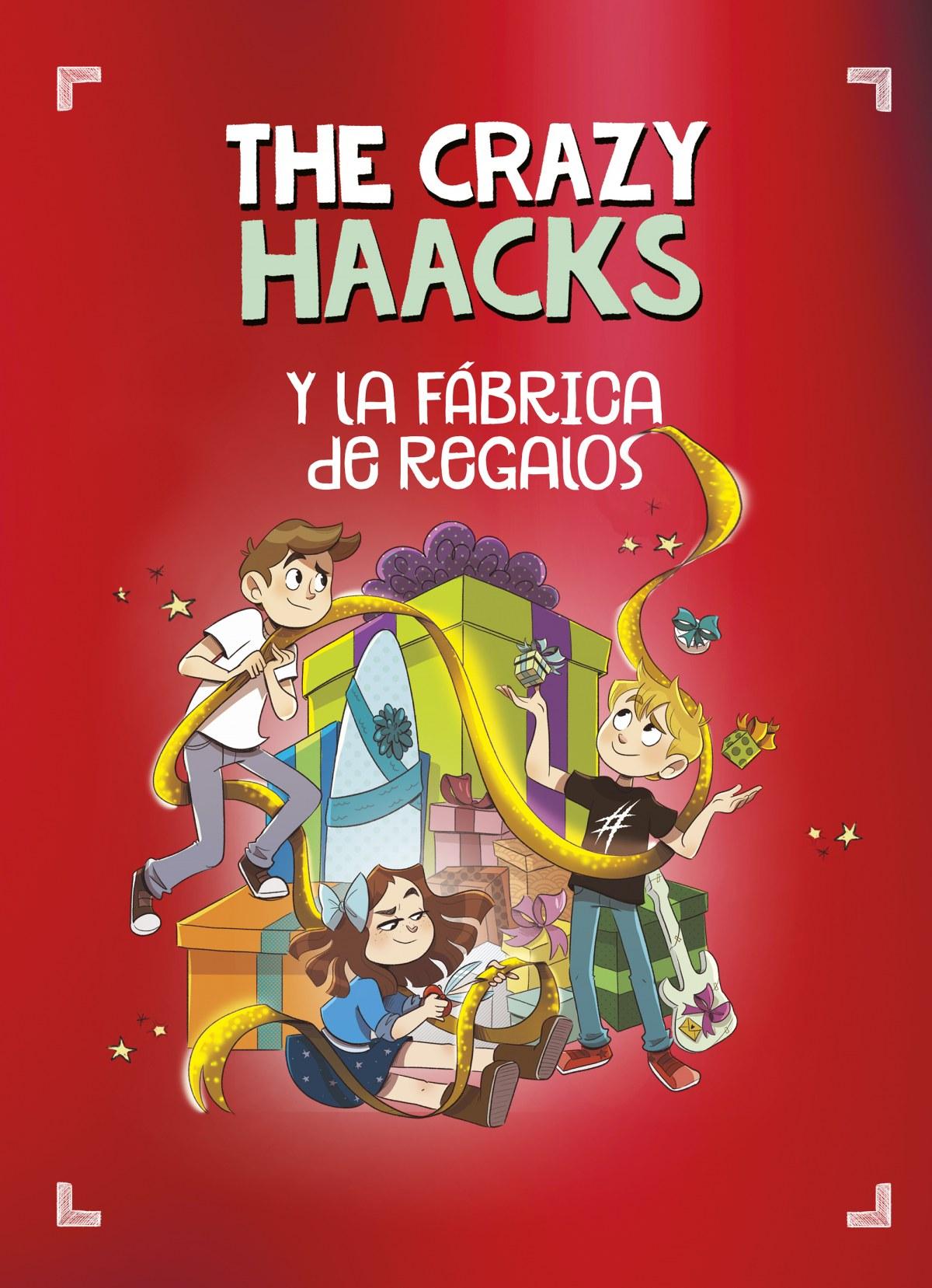 The Crazy Haacks y la fábrica de regalos 9788418038853
