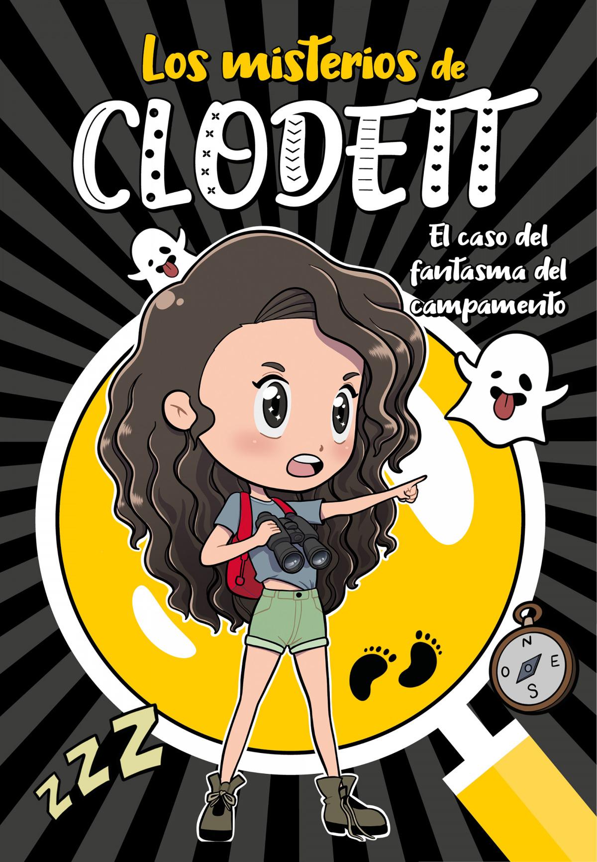 El caso del fantasma del campamento (Misterios de Clodett 4) 9788418038921