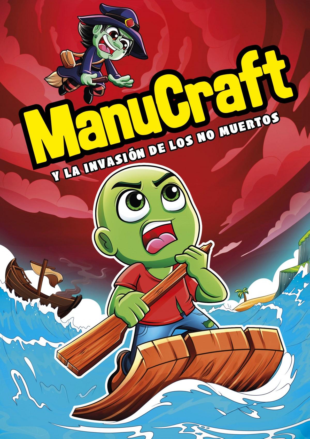 Manucraft y la invasión de los no-muertos 9788418057489