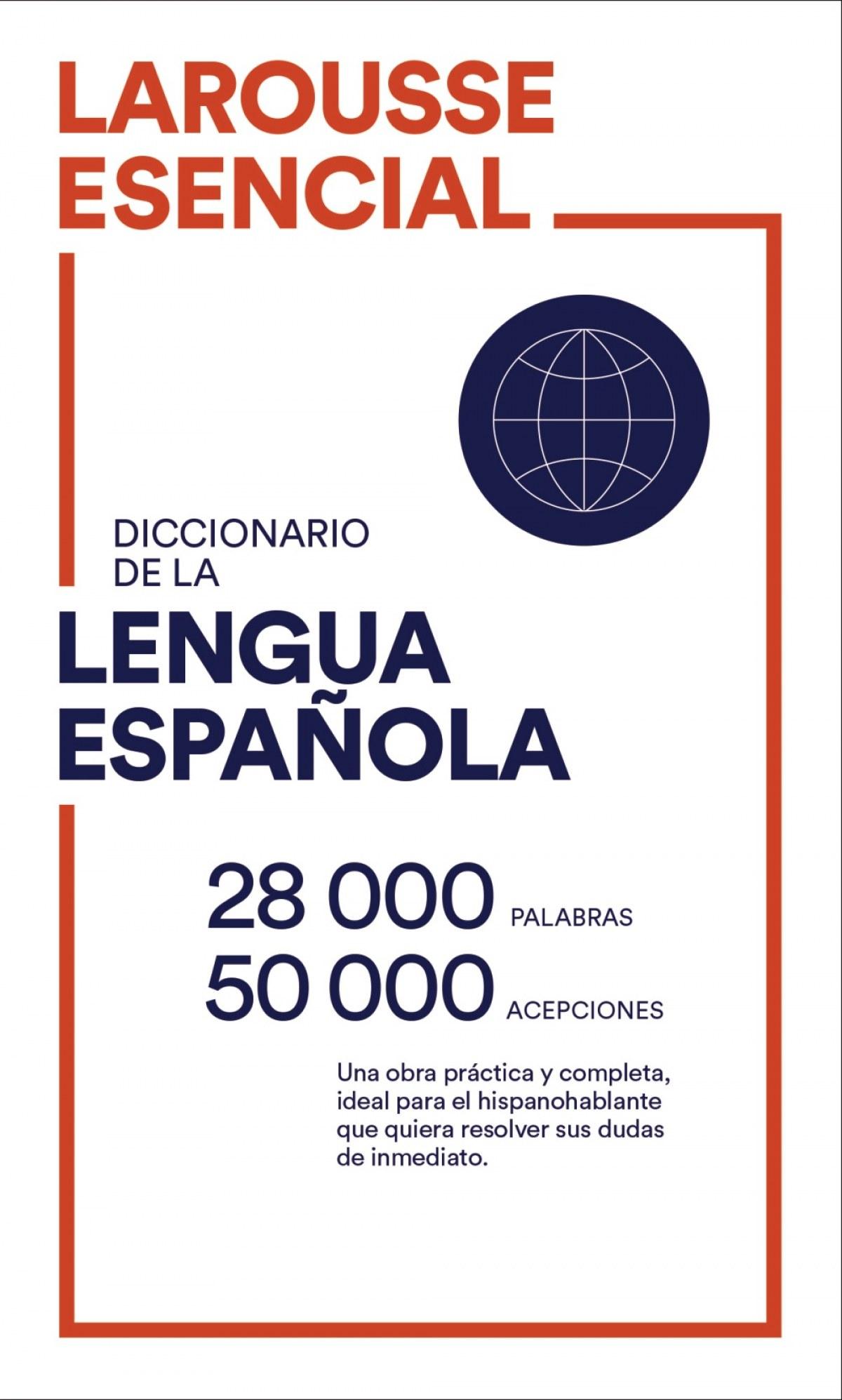 Diccionario Esencial Lengua Española 9788418100161
