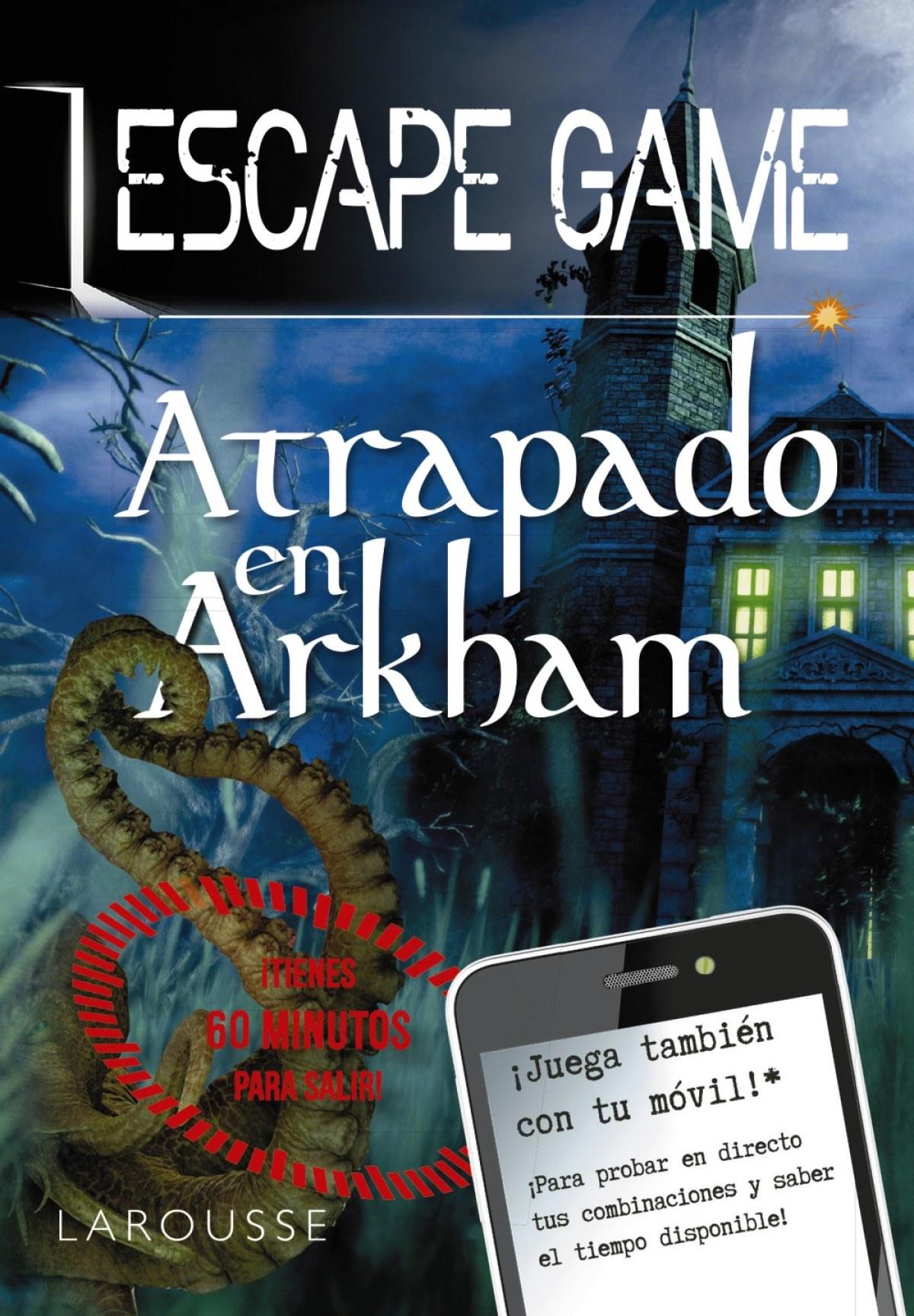 Escape Game - Atrapado en Arkham 9788418100420