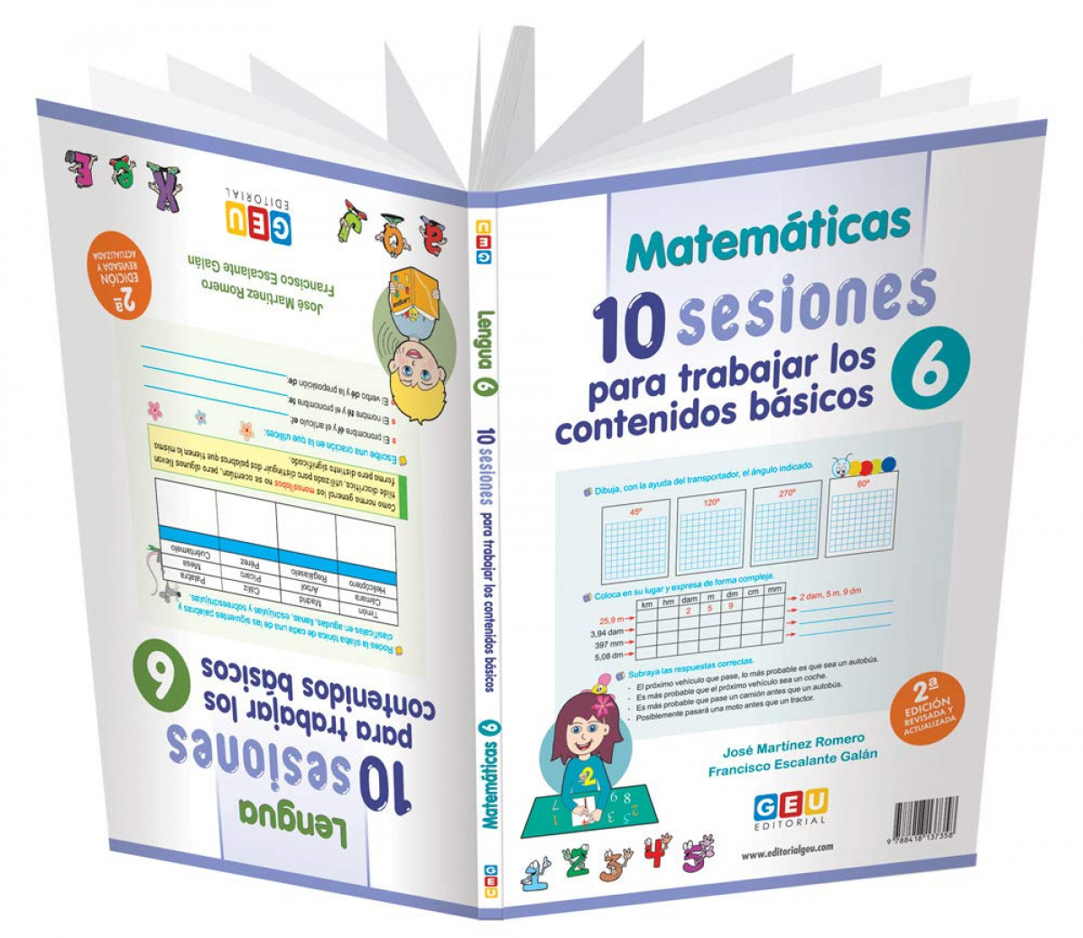 10 SESIONES PARA TRABAJAR CONTENIDOS BASICOS 6 9788418137358