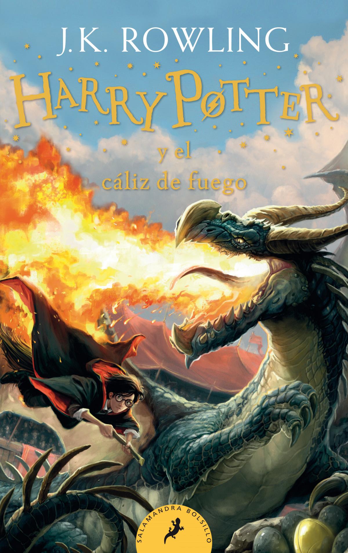 Harry Potter y el cáliz de fuego (Harry Potter 4) 9788418173110