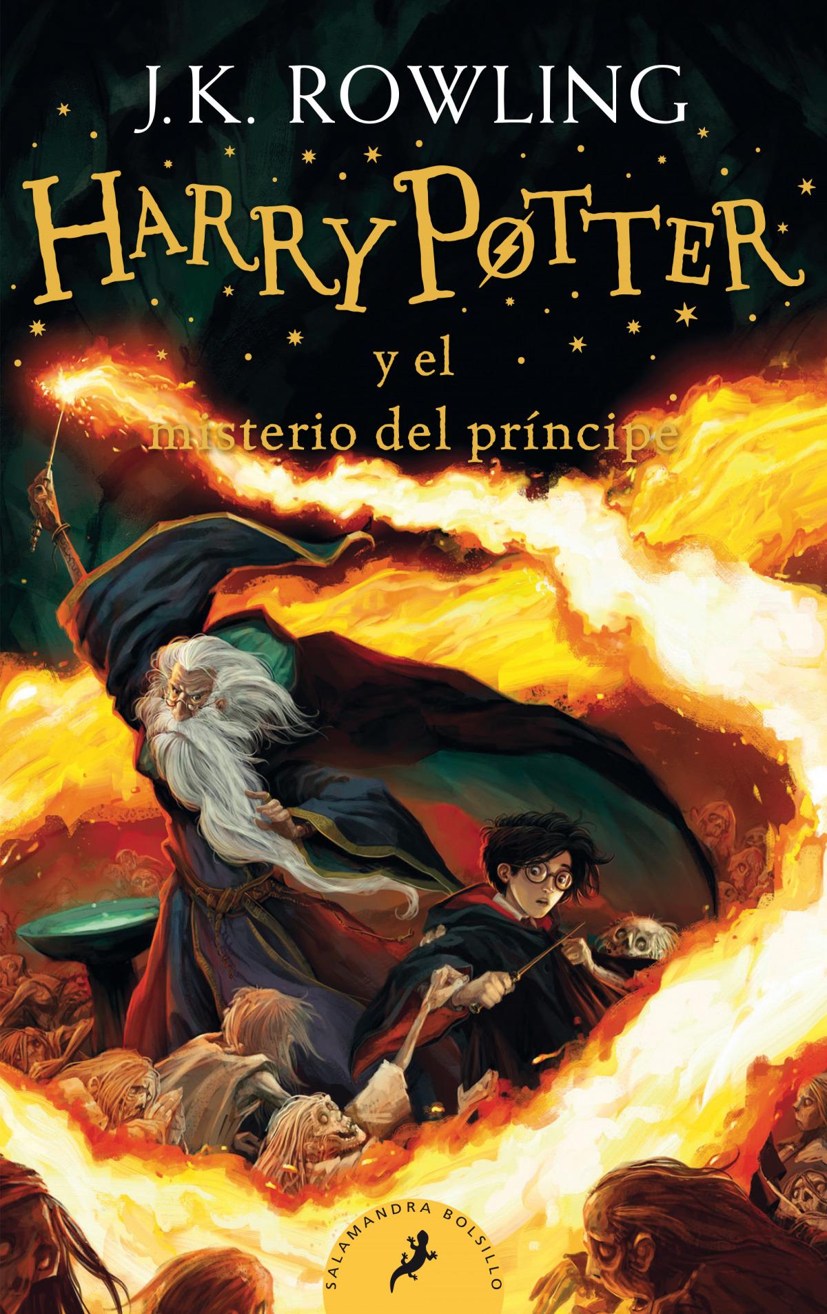 Harry Potter y el misterio del pr¡ncipe (Harry Potter 6) 9788418173158
