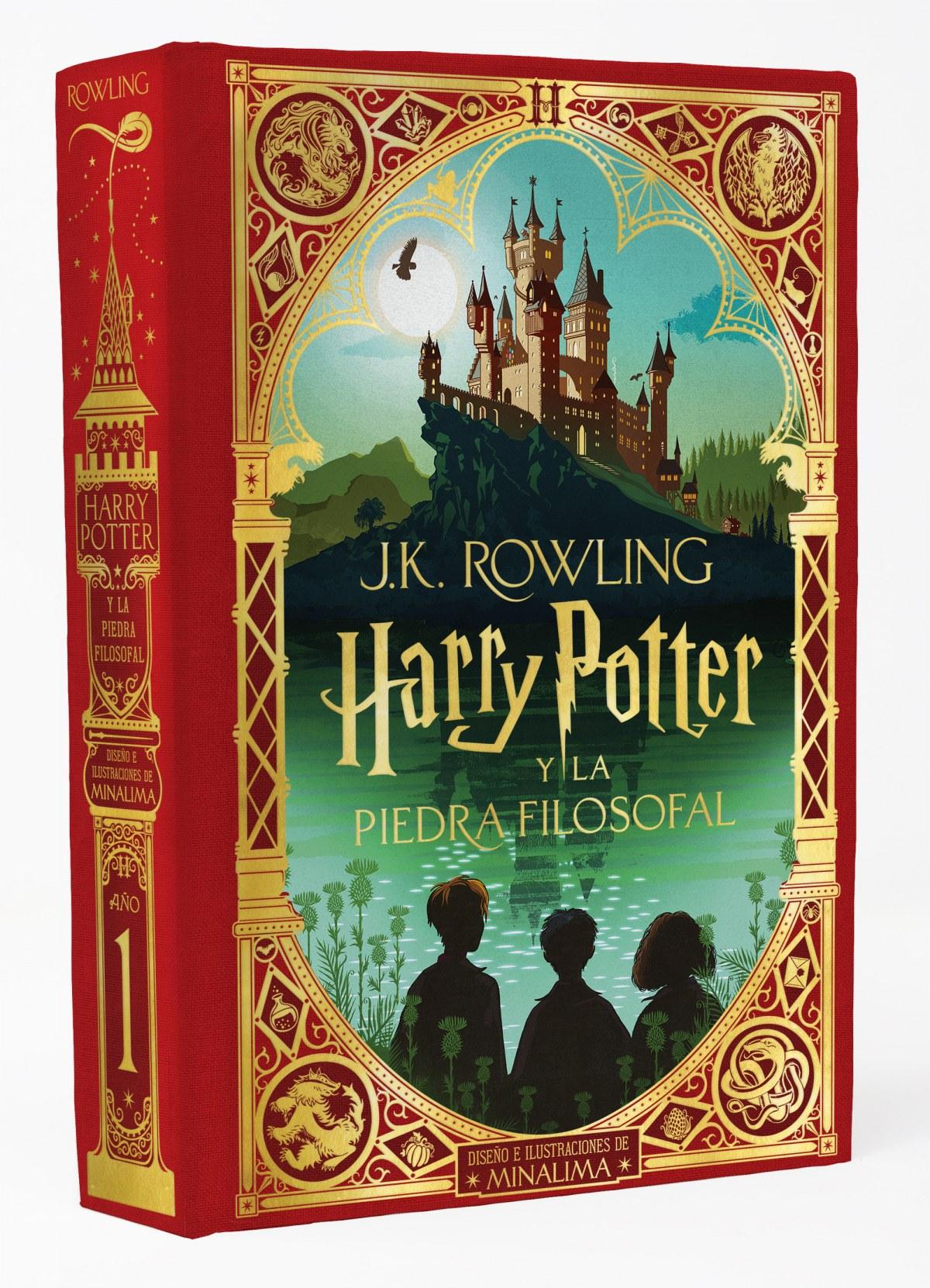 Harry Potter y la piedra filosofal (Ed. Minalima) (Harry Potter 1) 9788418174070