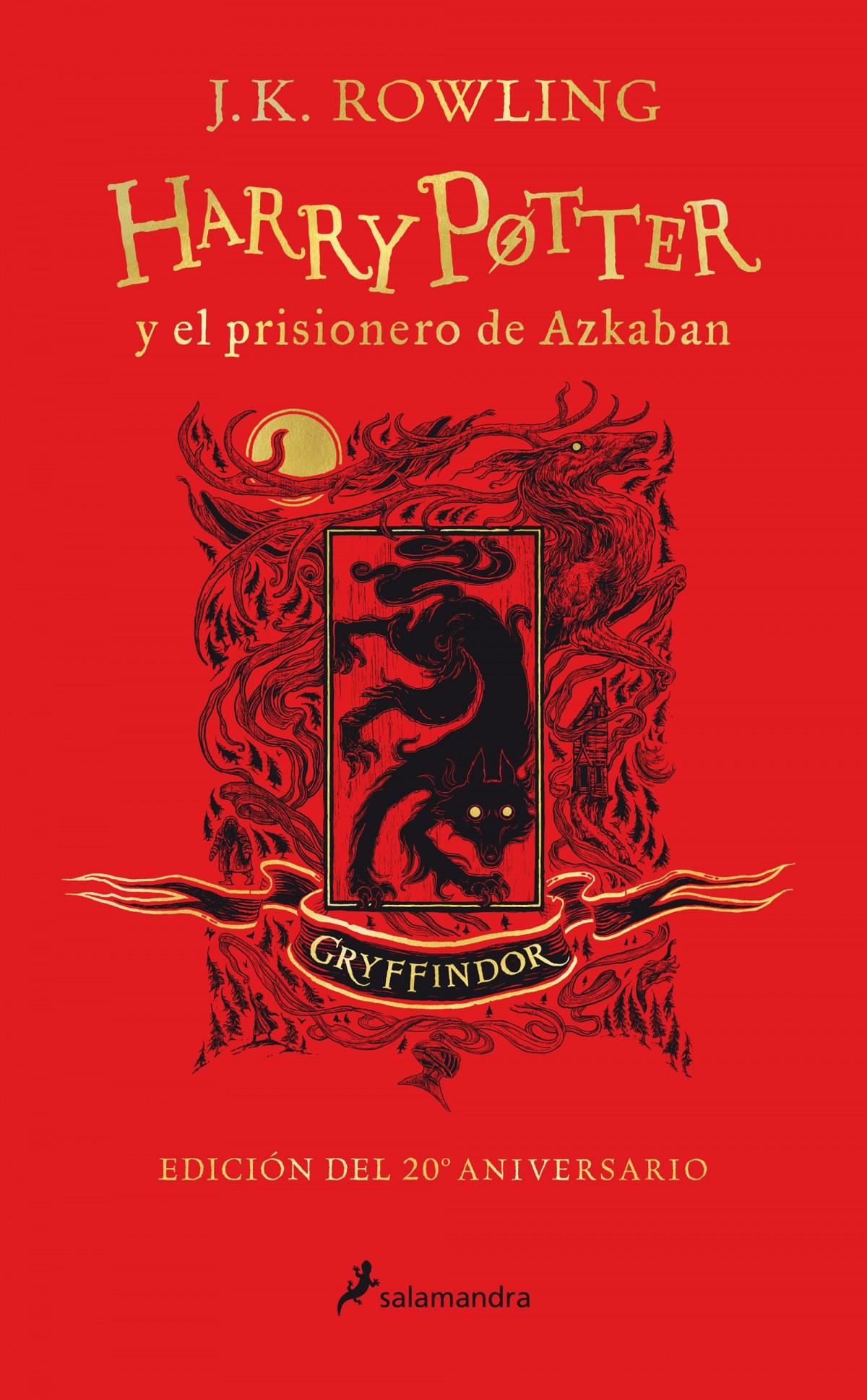 Harry Potter y el prisionero de Azkaban (edición Gryffindor del 2 9788418174087