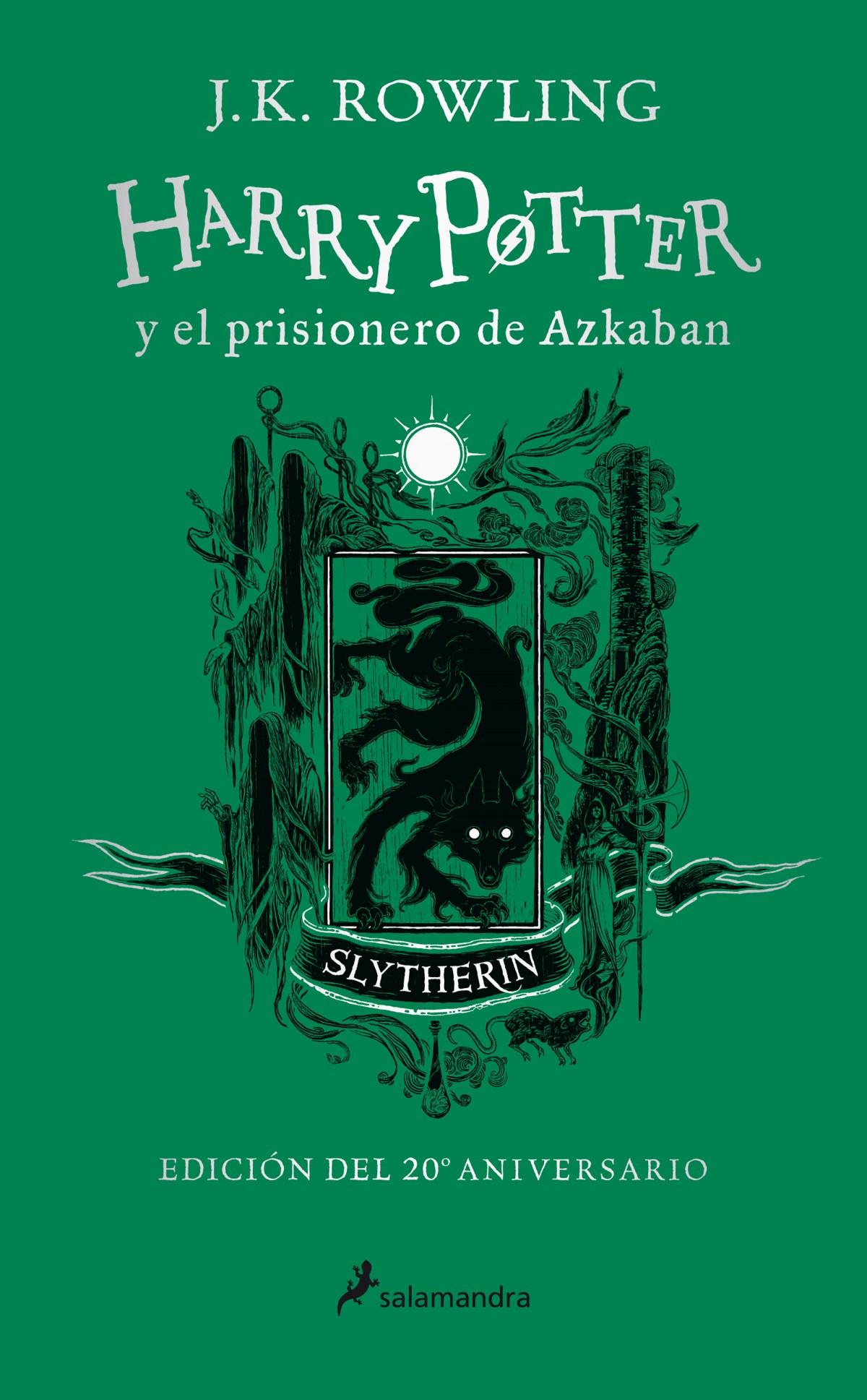 Harry Potter y el prisionero de Azkaban (edición Slytherin del 20 9788418174094