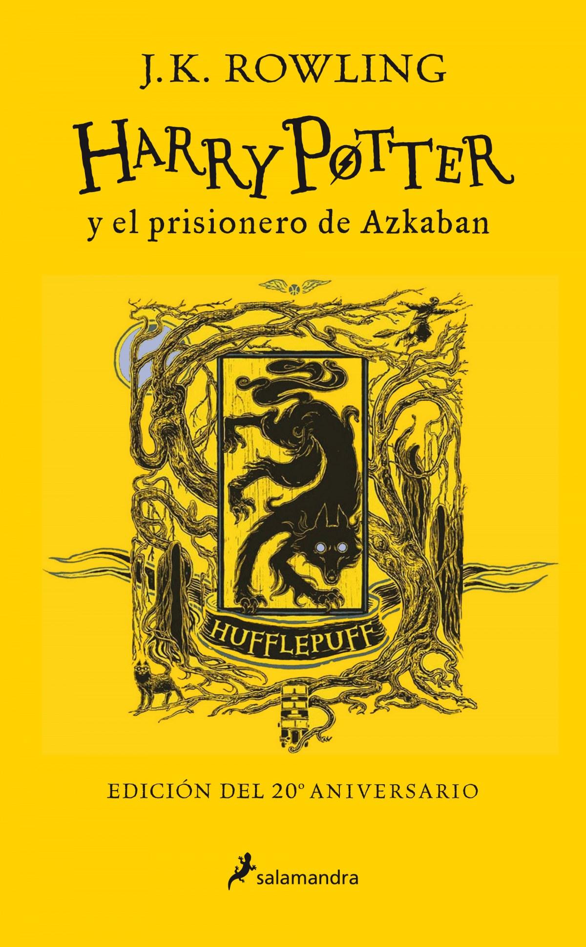 Harry Potter y el prisionero de Azkaban (edición Hufflepuff del 2 9788418174100