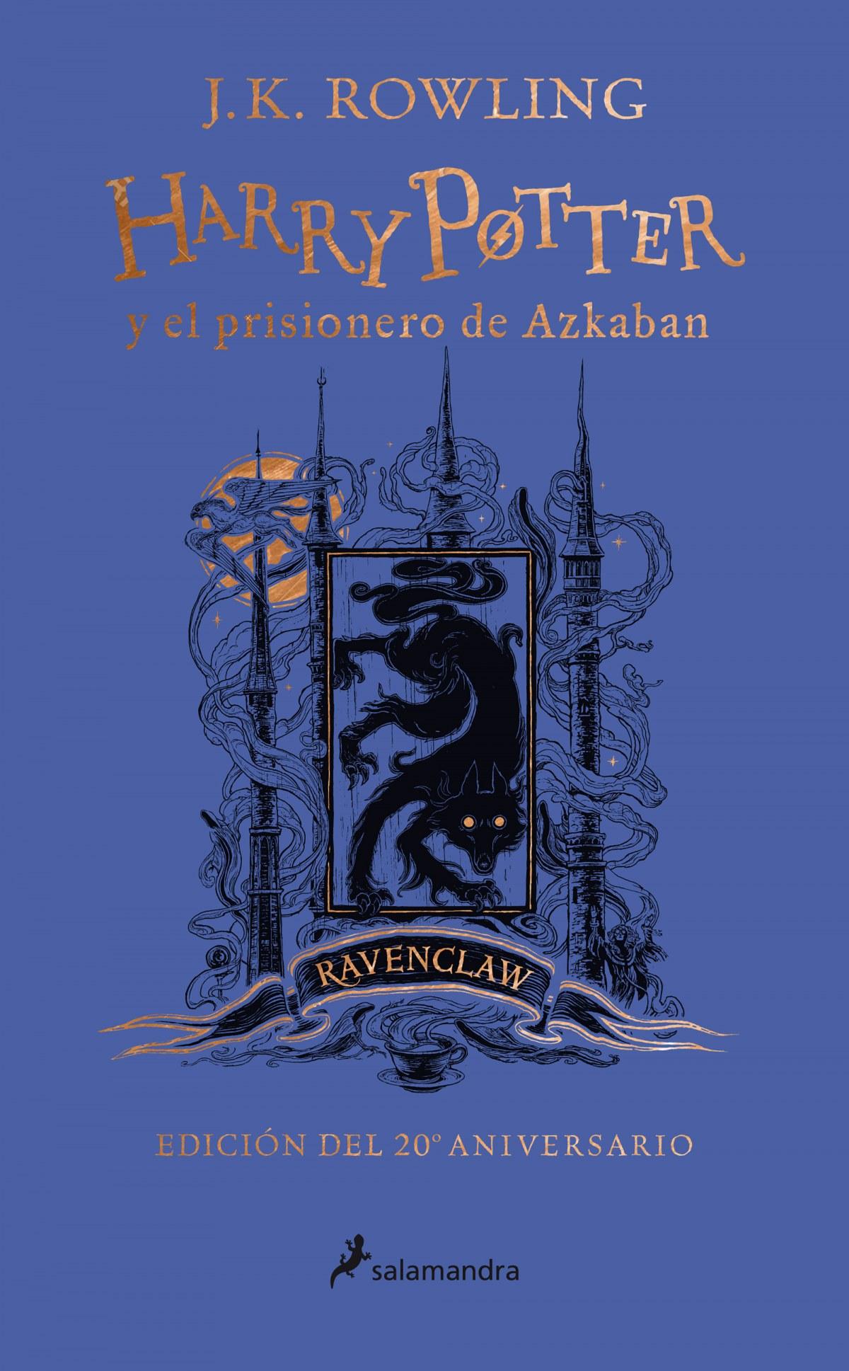 Harry Potter y el prisionero de Azkaban (edición Ravenclaw del 20 9788418174117