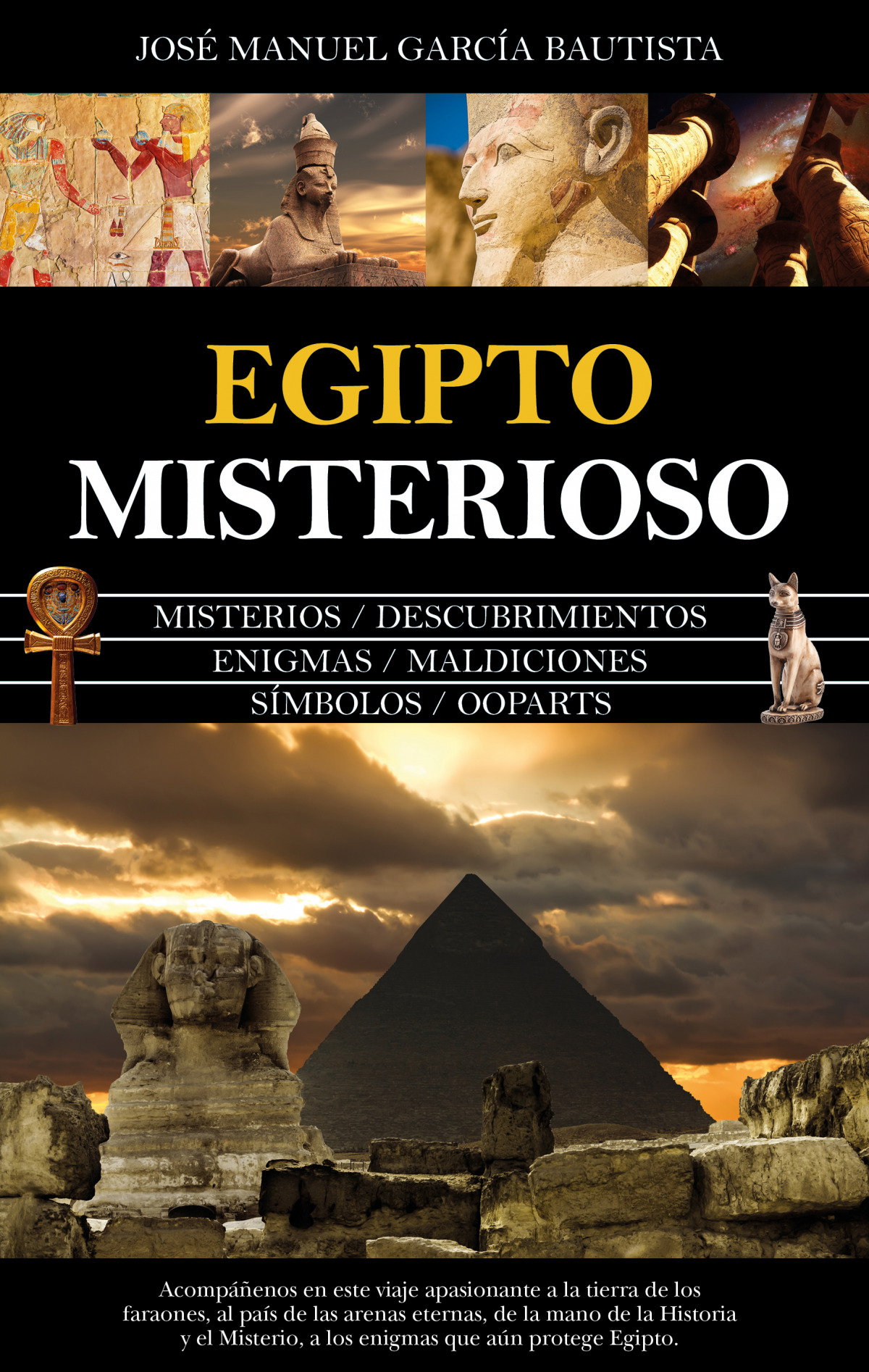 Egipto misterioso 9788418205507