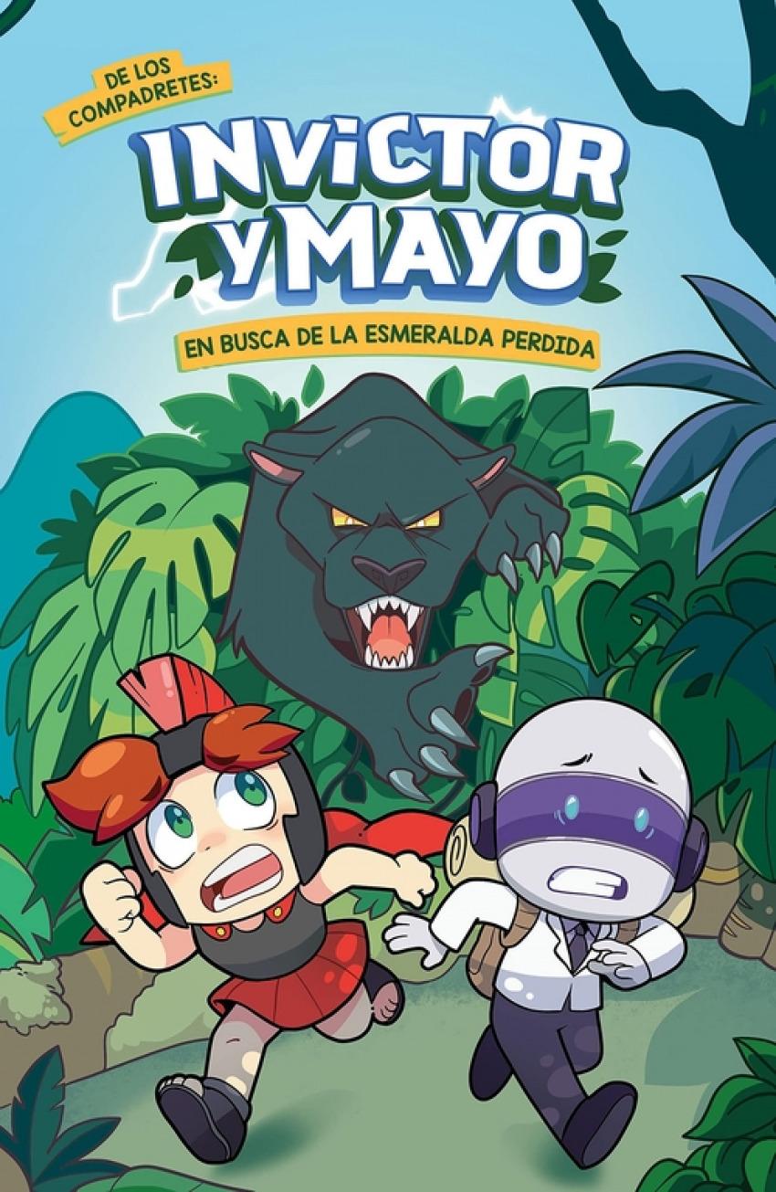 Invictor y Mayo en busca de la esmeralda perdida 9788418483646
