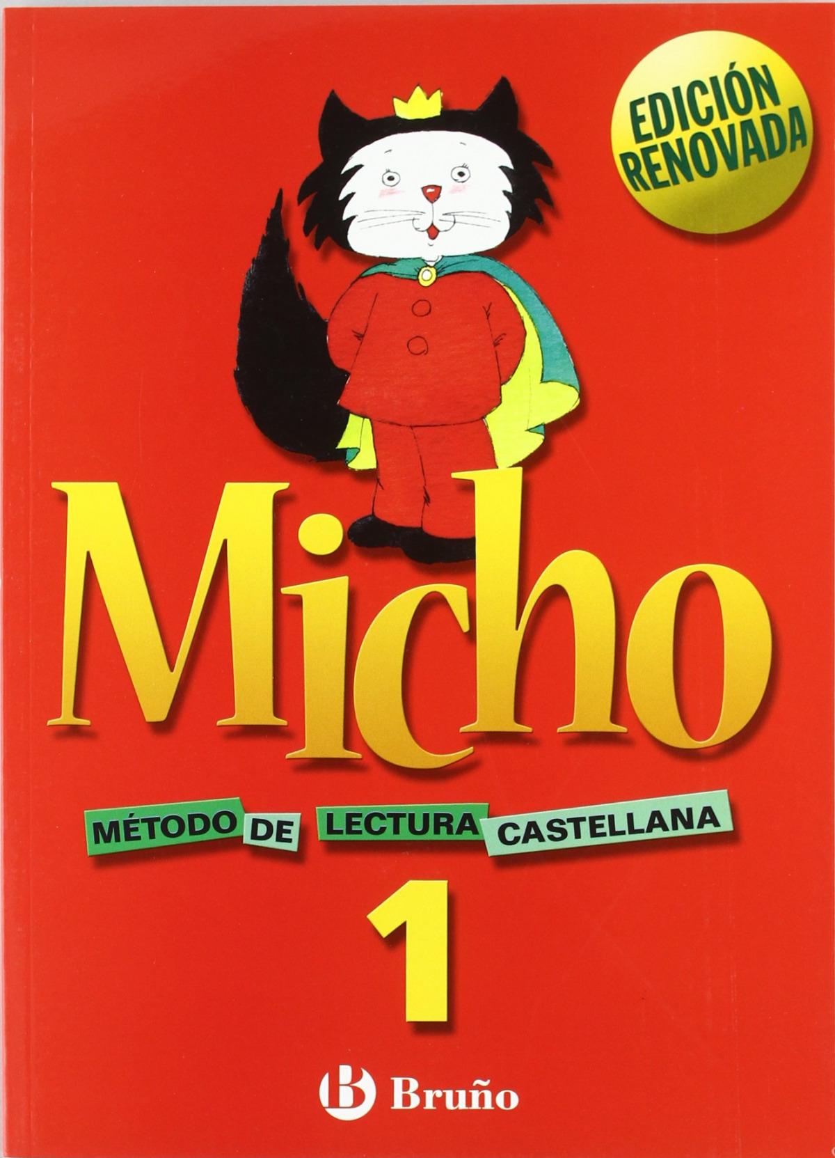 MICHO 1.CARTILLA LECTURA.(4 ANOS) 9788421650684
