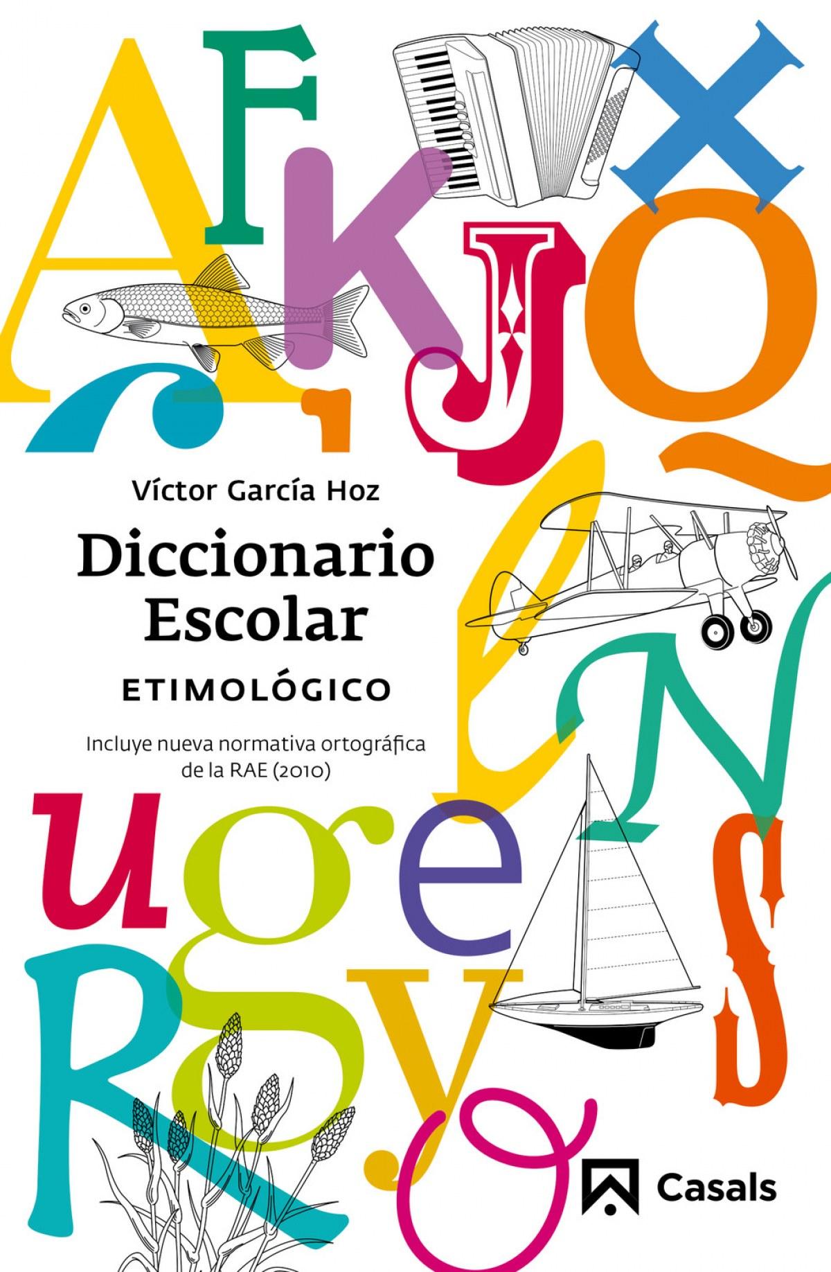 Diccionario escolar etimologico 9788421851111