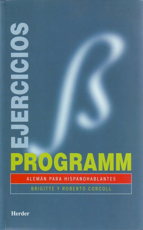 Programm, alemán para hispanohablantes 9788425418594