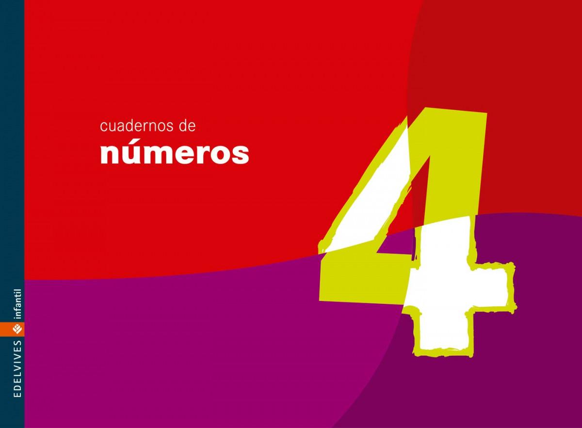 Cuaderno 4  de numeros (Infantil) 9788426358172