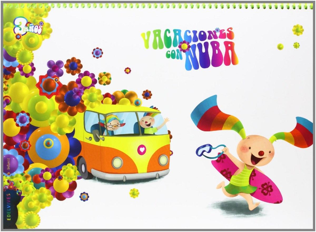 Vacaciones con Nuba 3 años 9788426392770