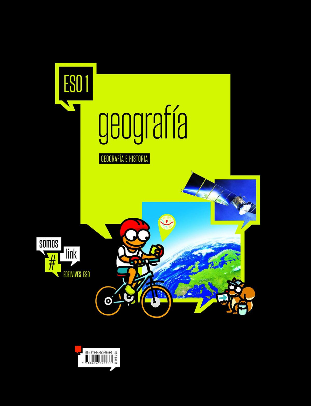 Geograf¡a e historia 1o.eso. Somoslink 9788426398833